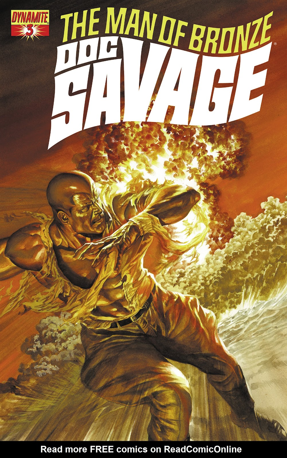Doc Savage (2013) issue 3 - Page 1