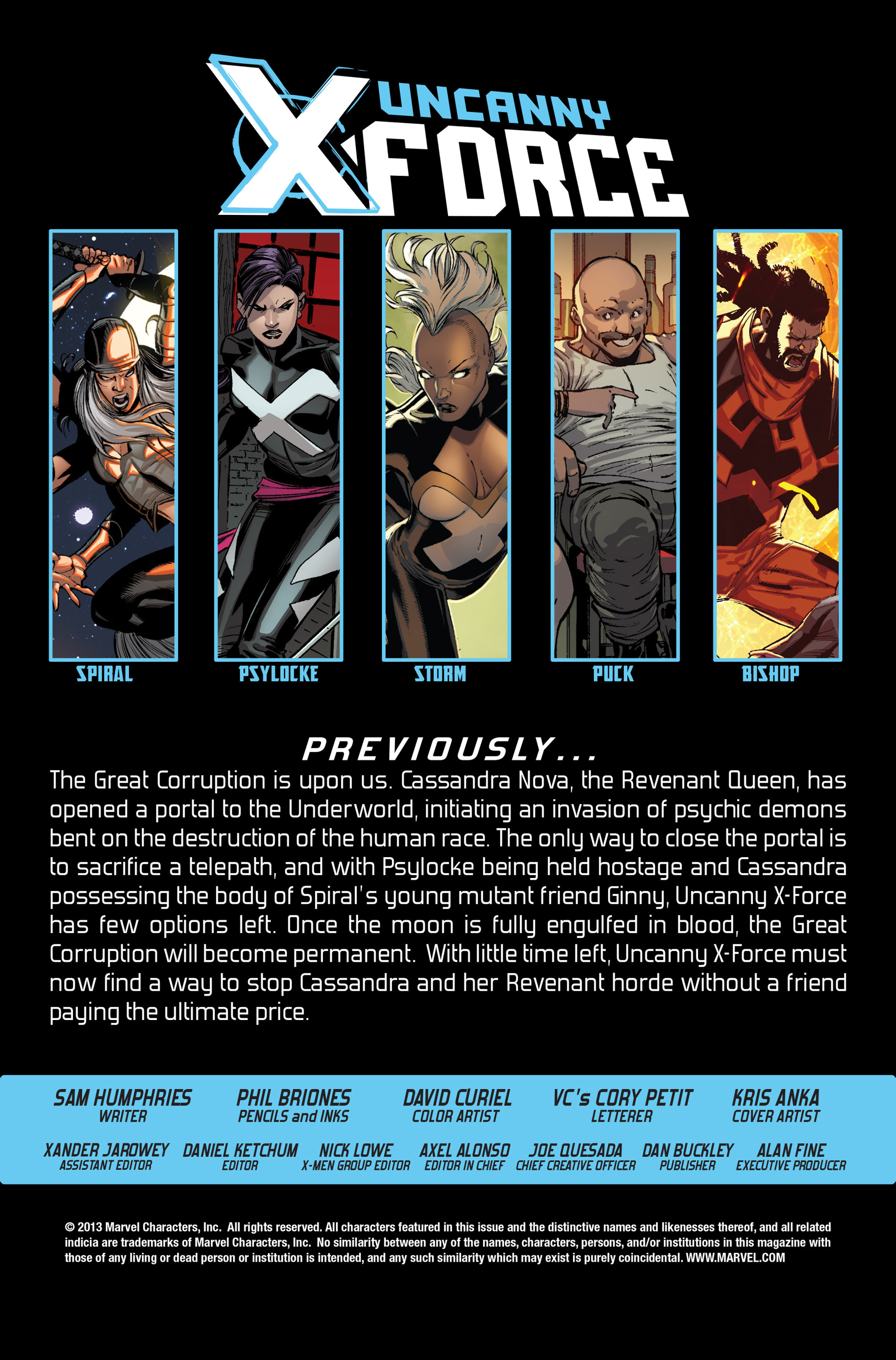 Read online Uncanny X-Force (2013) comic -  Issue #14 - 2