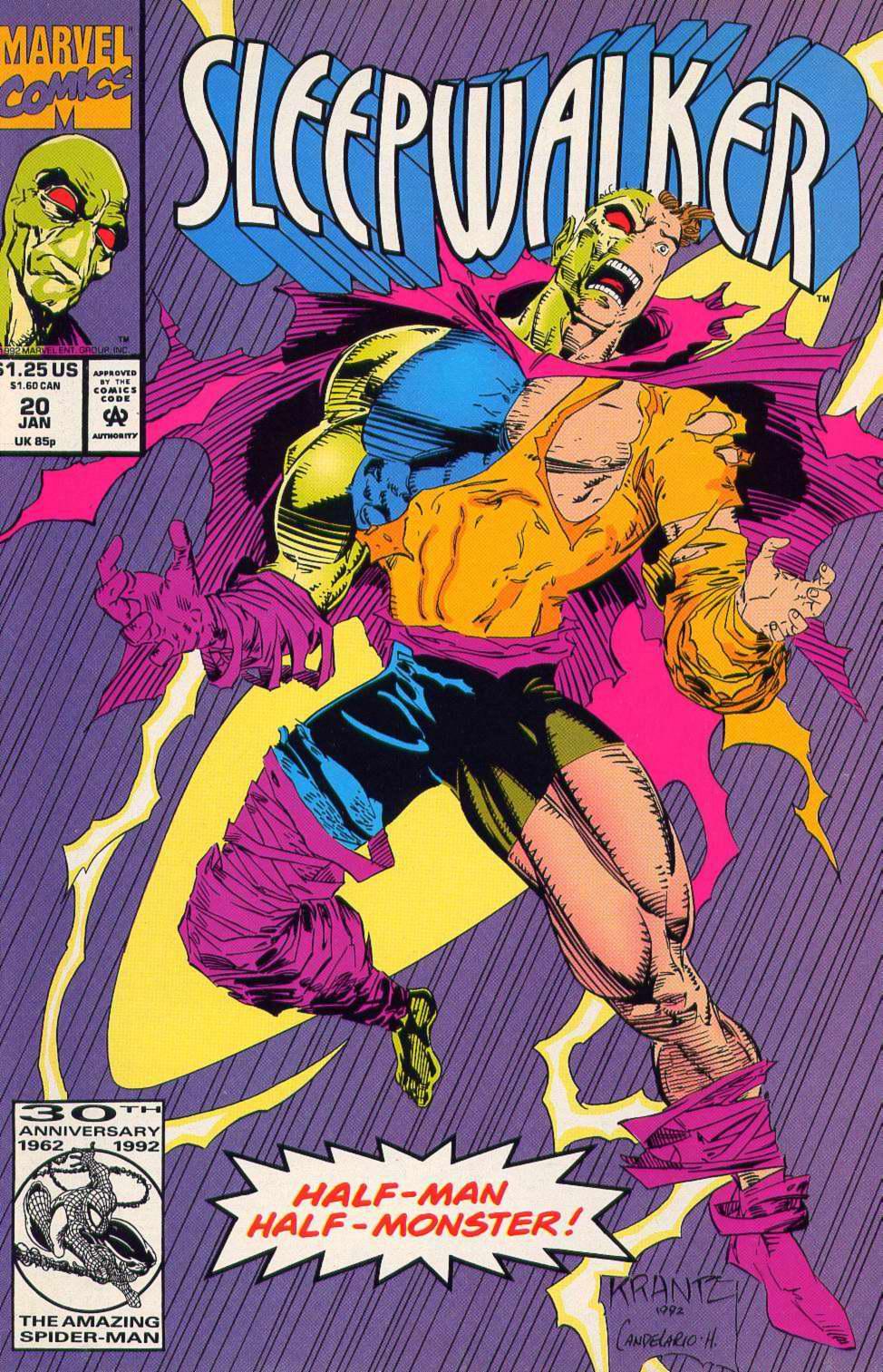 Read online Sleepwalker comic -  Issue #20 - 1