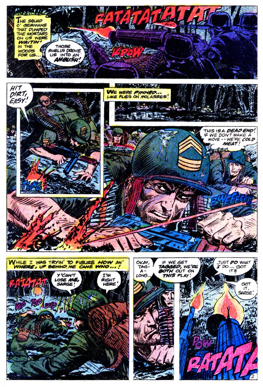 Read online Sgt. Rock comic -  Issue #354 - 26