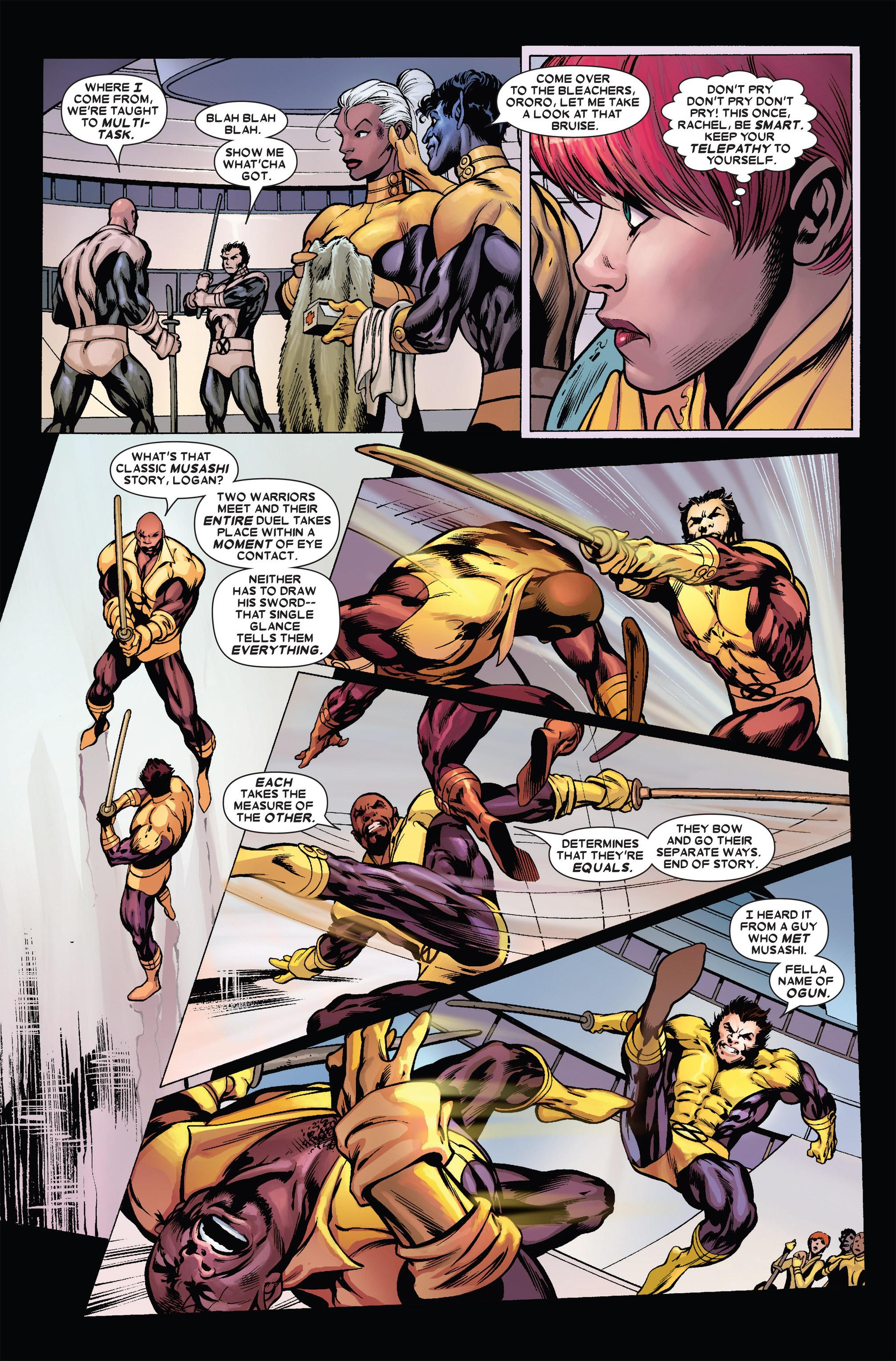 Read online Uncanny X-Men (1963) comic -  Issue #455 - 10