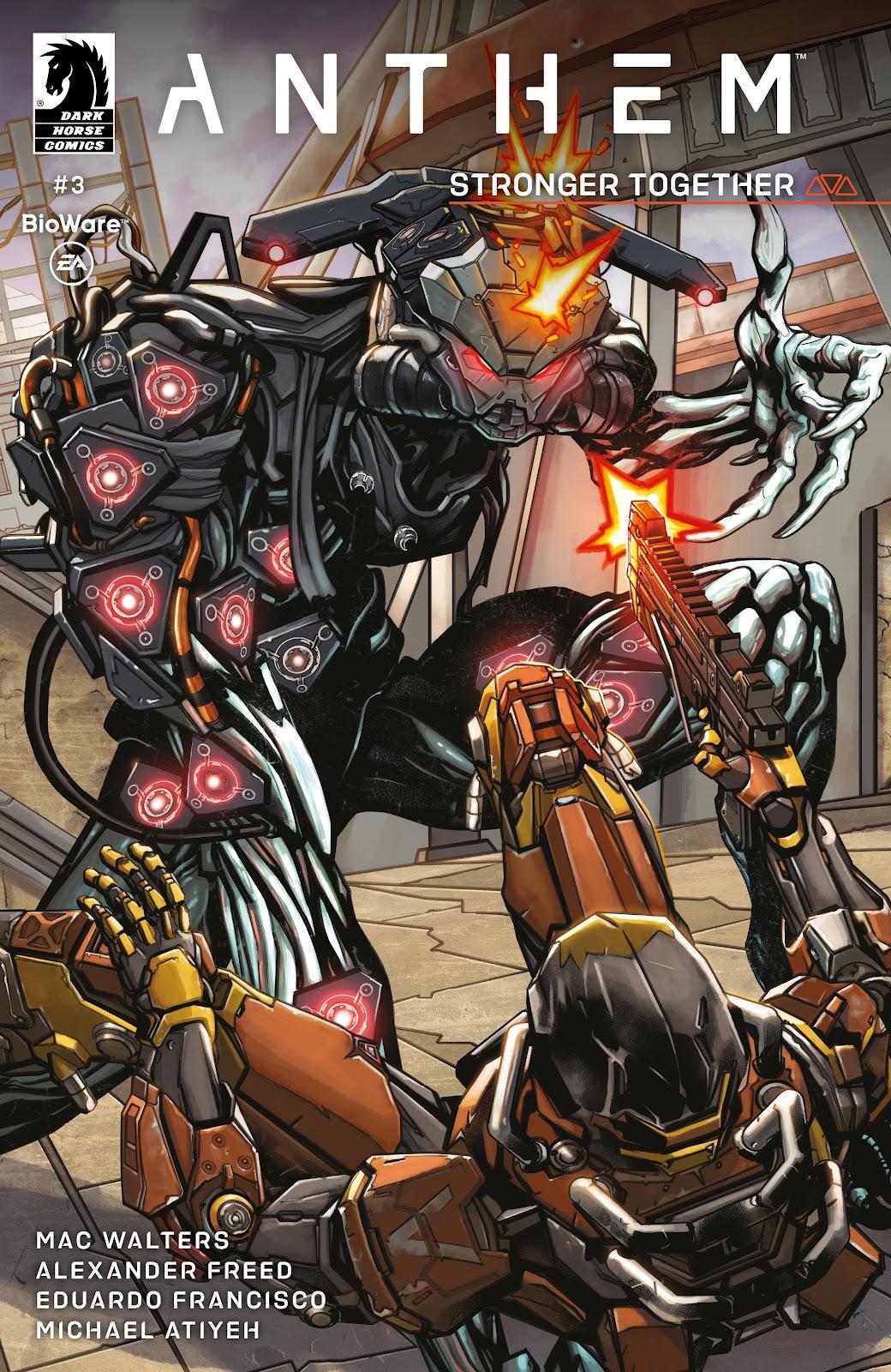 Read online Anthem comic -  Issue #3 - 1