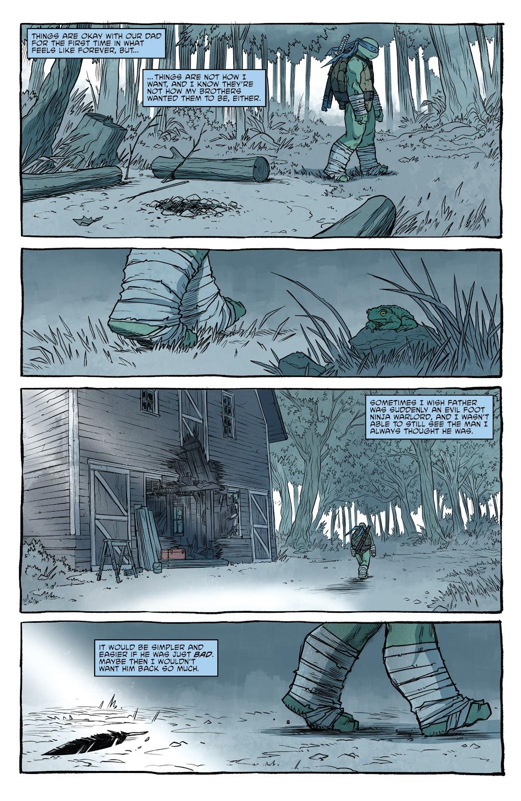 Read online Teenage Mutant Ninja Turtles (2011) comic -  Issue #101 - 34