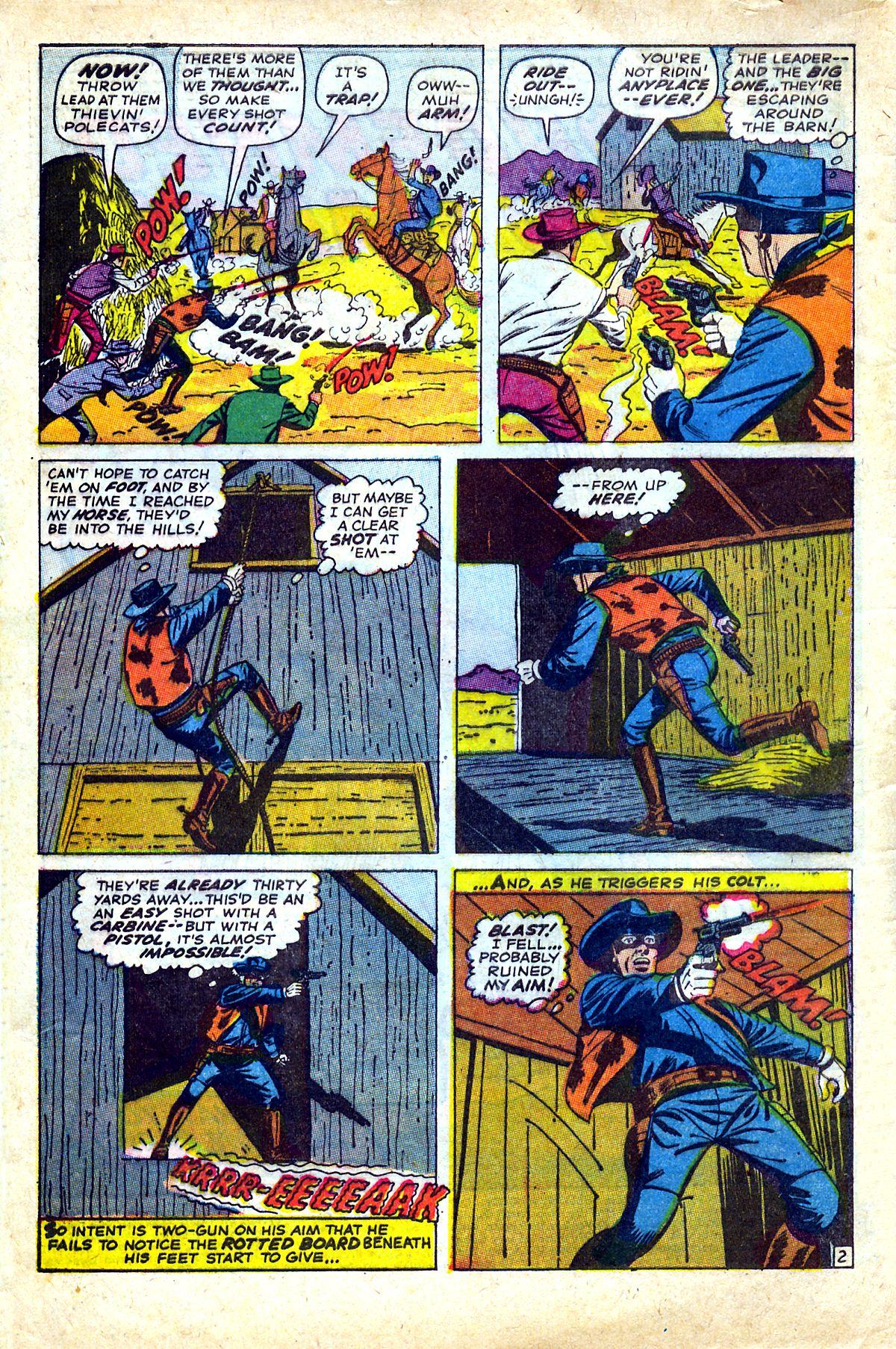 Read online Two-Gun Kid comic -  Issue #90 - 4