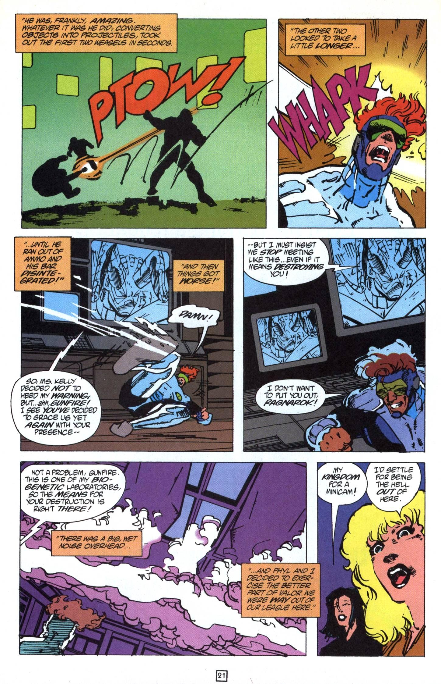 Read online Gunfire comic -  Issue #9 - 26