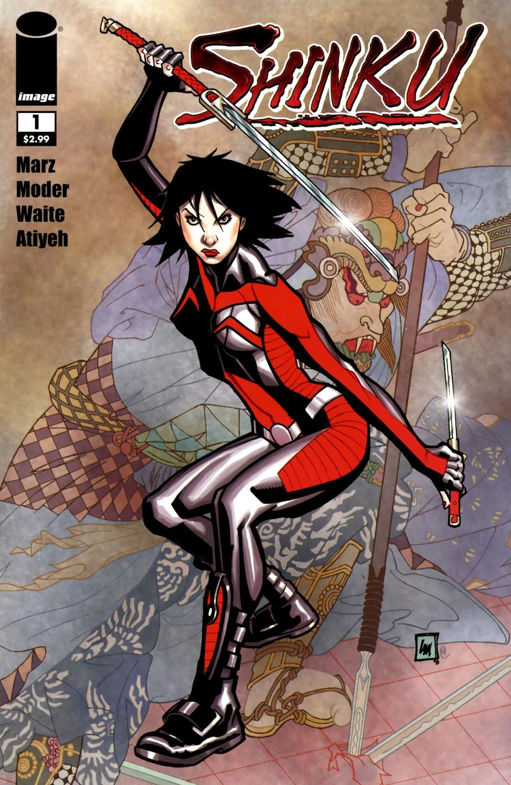 Read online Shinku comic -  Issue #1 - 1