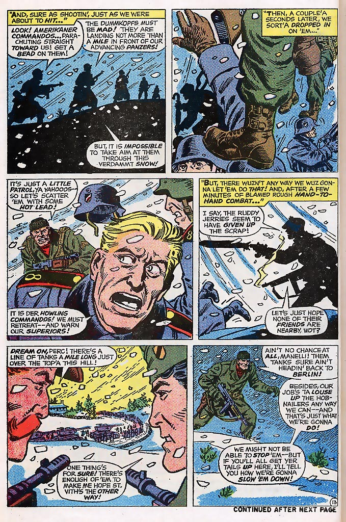 Read online Sgt. Fury comic -  Issue # _Special 4 - 16