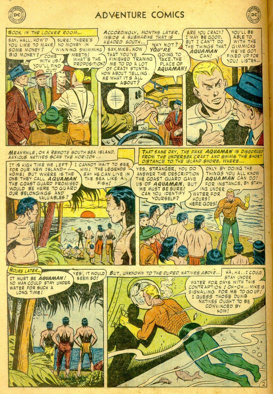 Read online Adventure Comics (1938) comic -  Issue #181 - 17