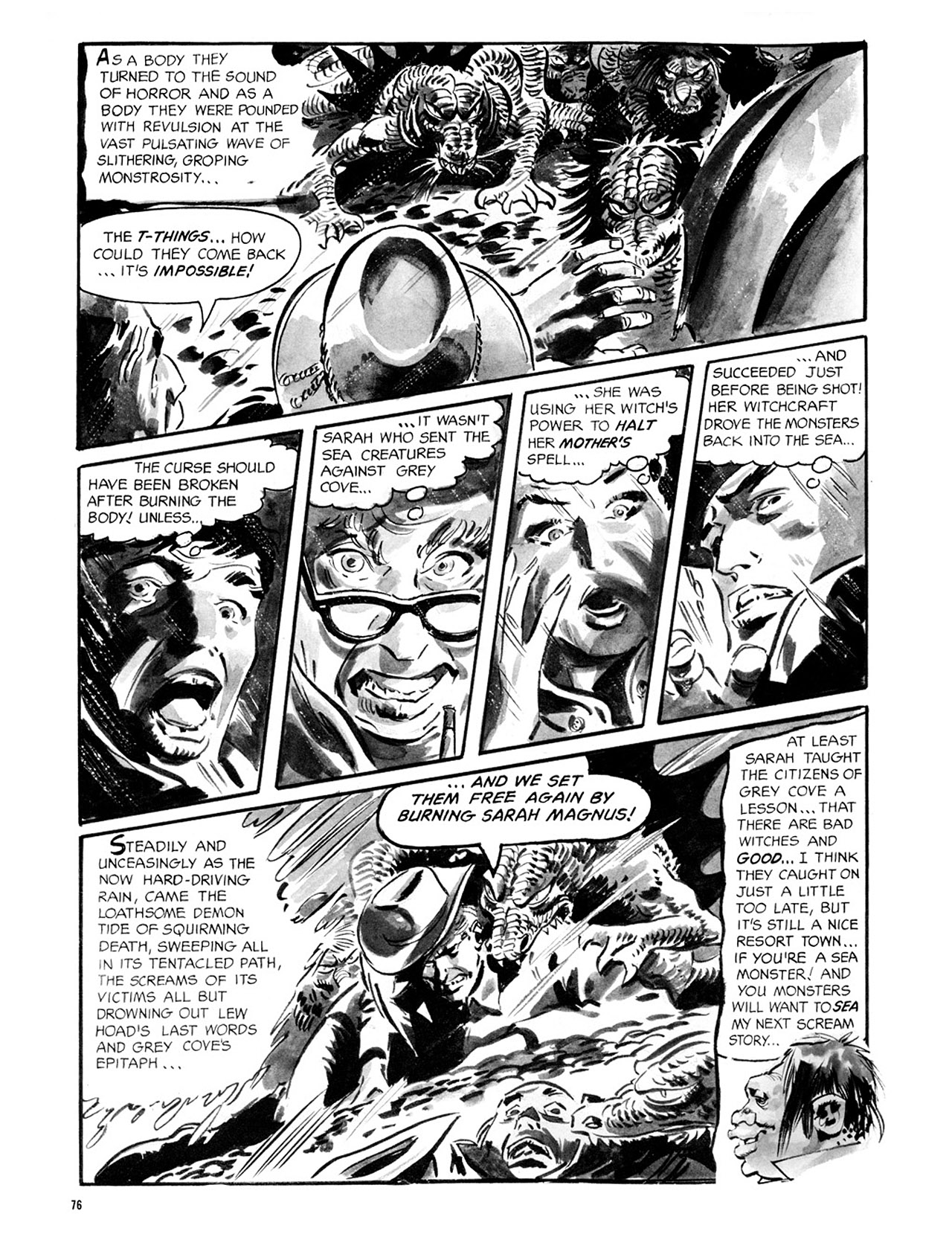 Read online Eerie Archives comic -  Issue # TPB 2 - 77