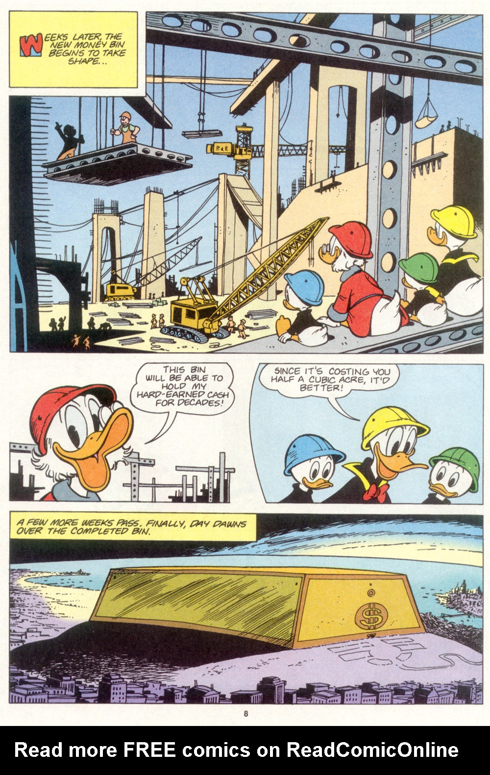 Read online Uncle Scrooge (1953) comic -  Issue #266 - 9