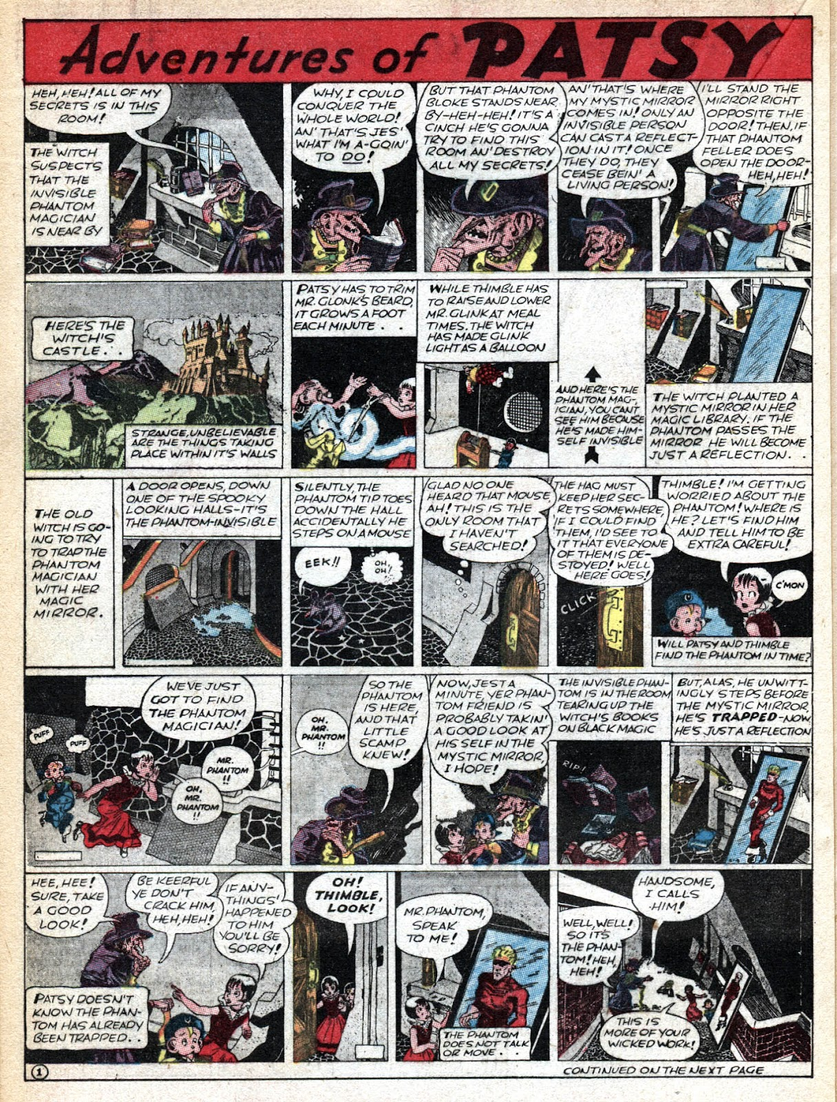 Read online Famous Funnies comic -  Issue #36 - 30