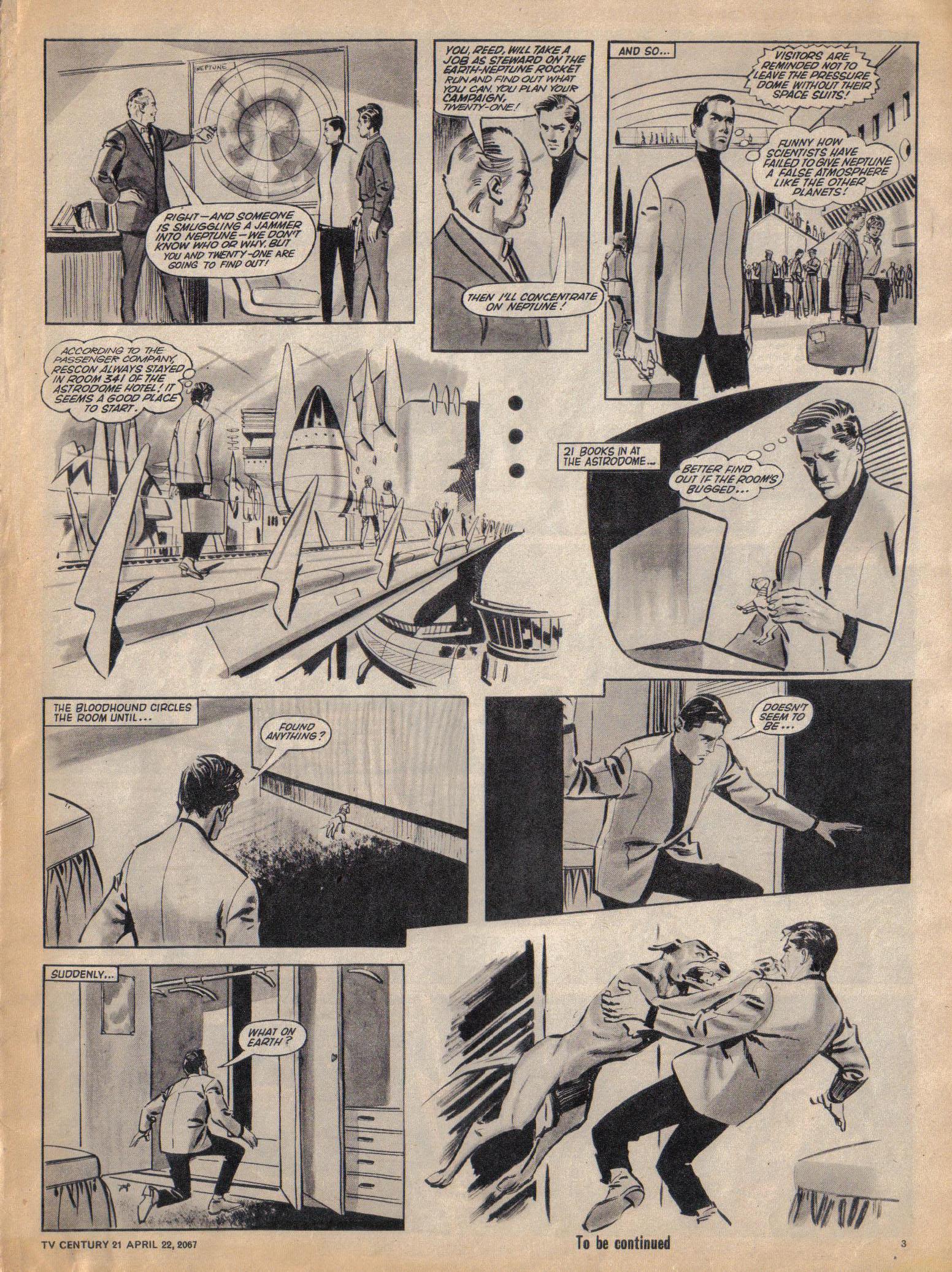 Read online TV Century 21 (TV 21) comic -  Issue #118 - 3