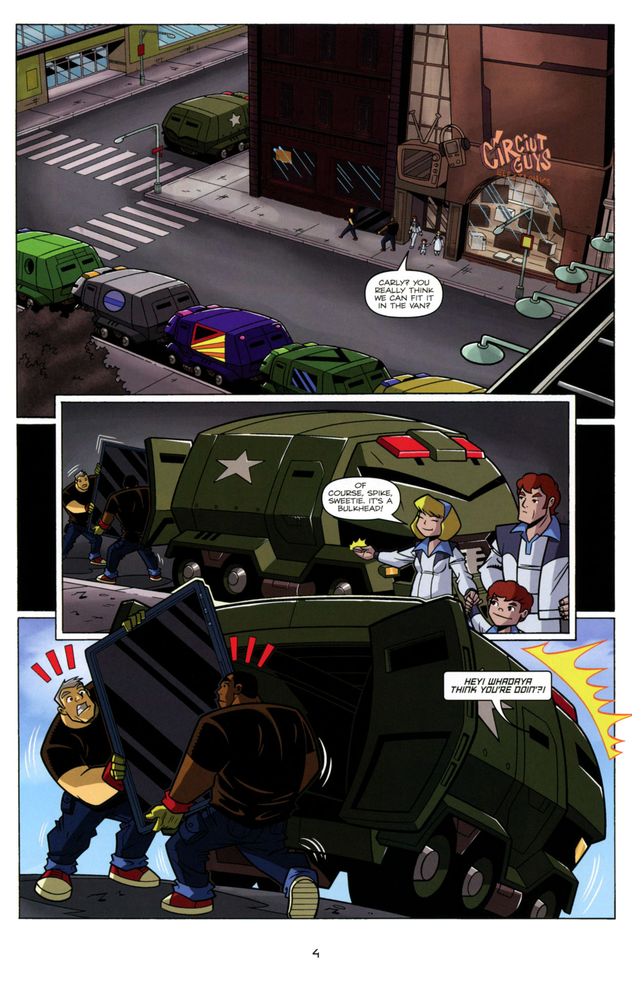 Read online Transformers Animated: The Arrival comic -  Issue #4 - 7