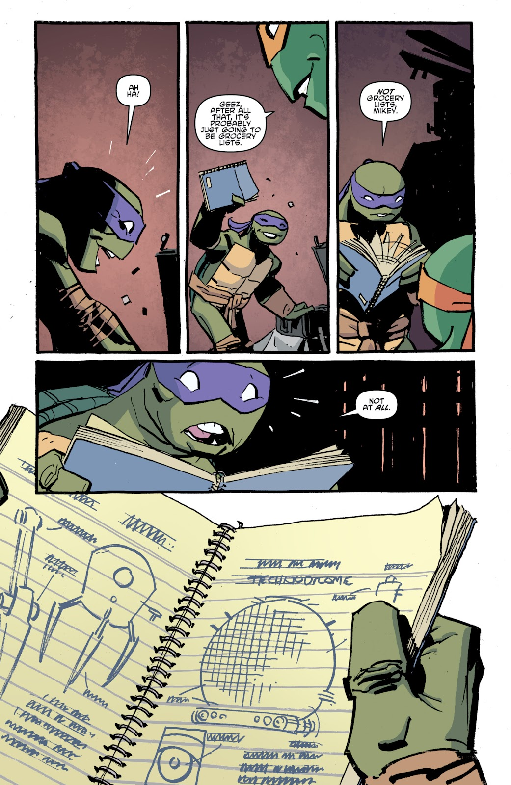 Read online Teenage Mutant Ninja Turtles: The IDW Collection comic -  Issue # TPB 4 (Part 1) - 47
