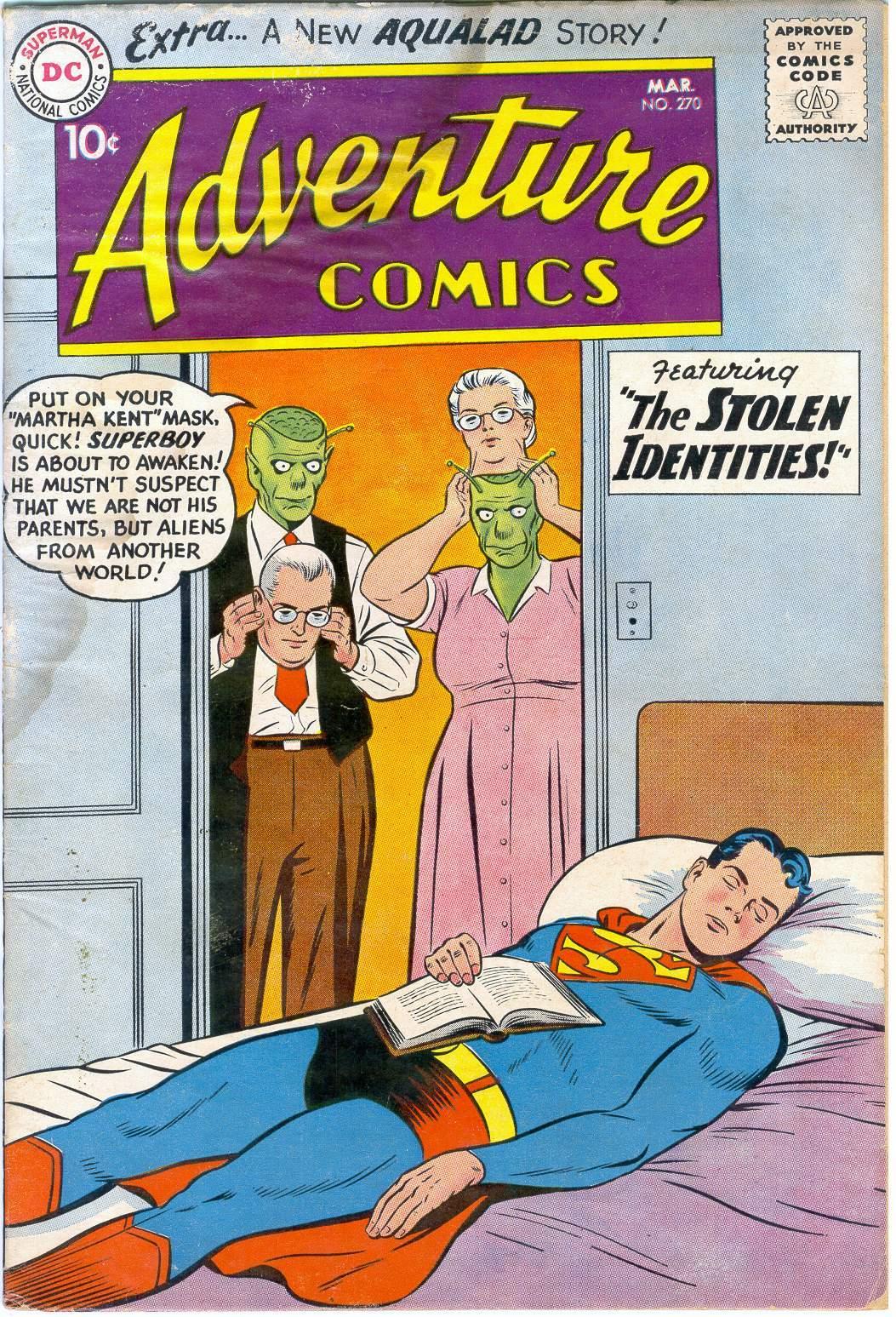Read online Adventure Comics (1938) comic -  Issue #270 - 1