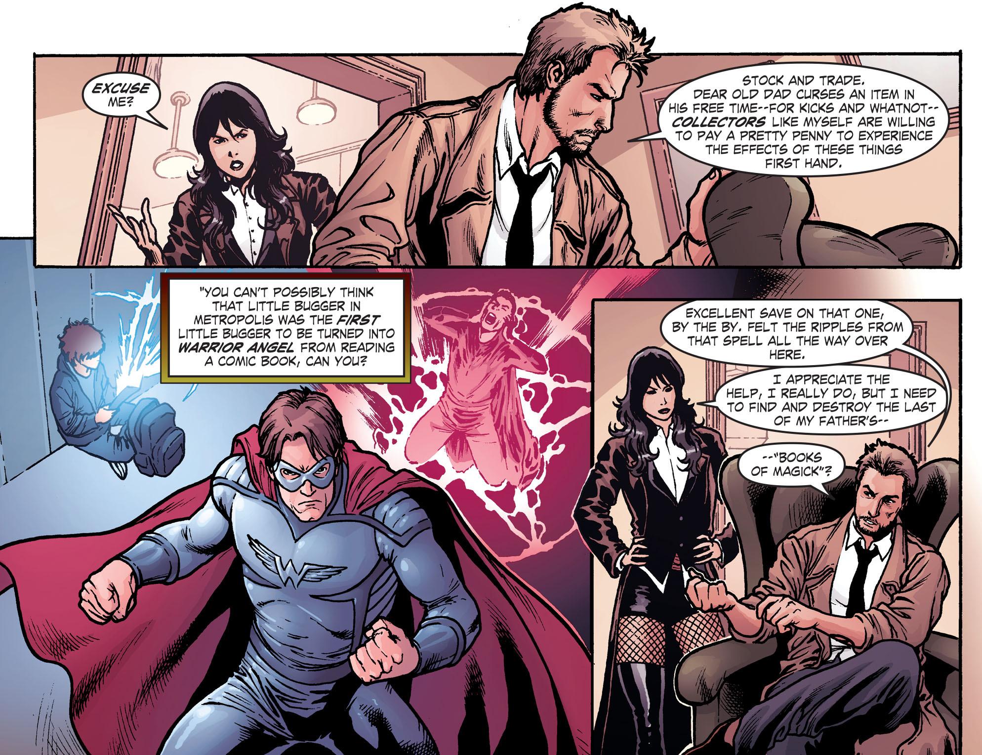 Read online Smallville: Harbinger comic -  Issue #2 - 13