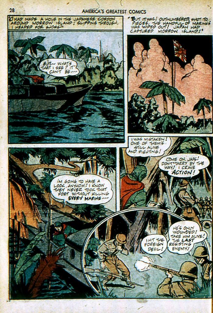 Read online America's Greatest Comics comic -  Issue #4 - 28