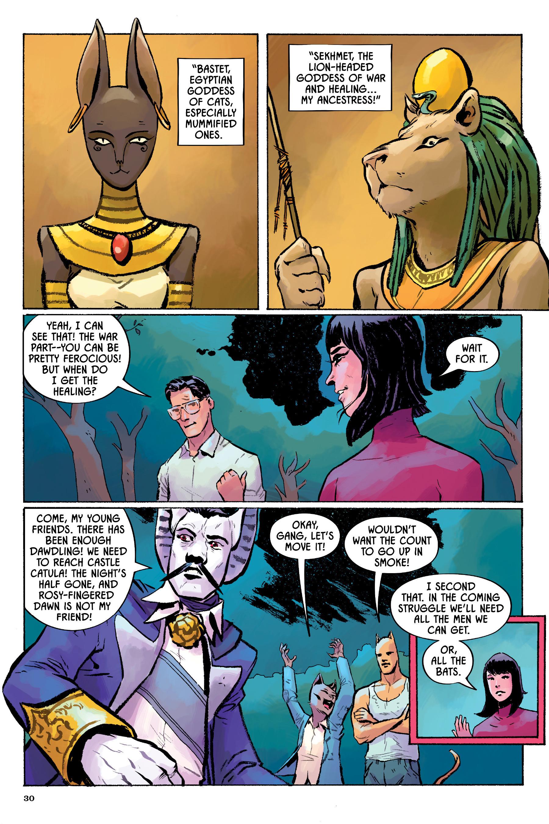 Read online Angel Catbird comic -  Issue # TPB 2 - 31