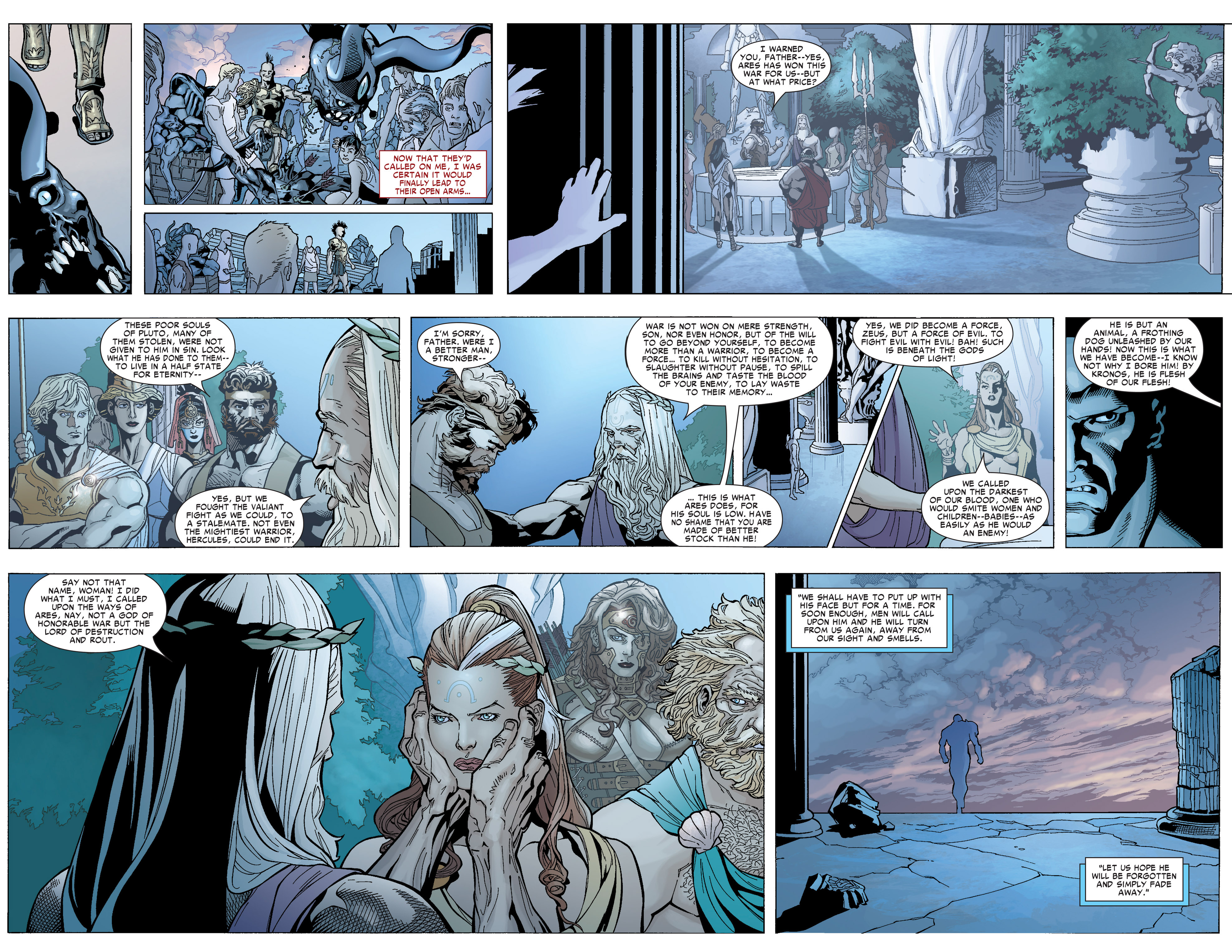 Read online Ares comic -  Issue #1 - 5