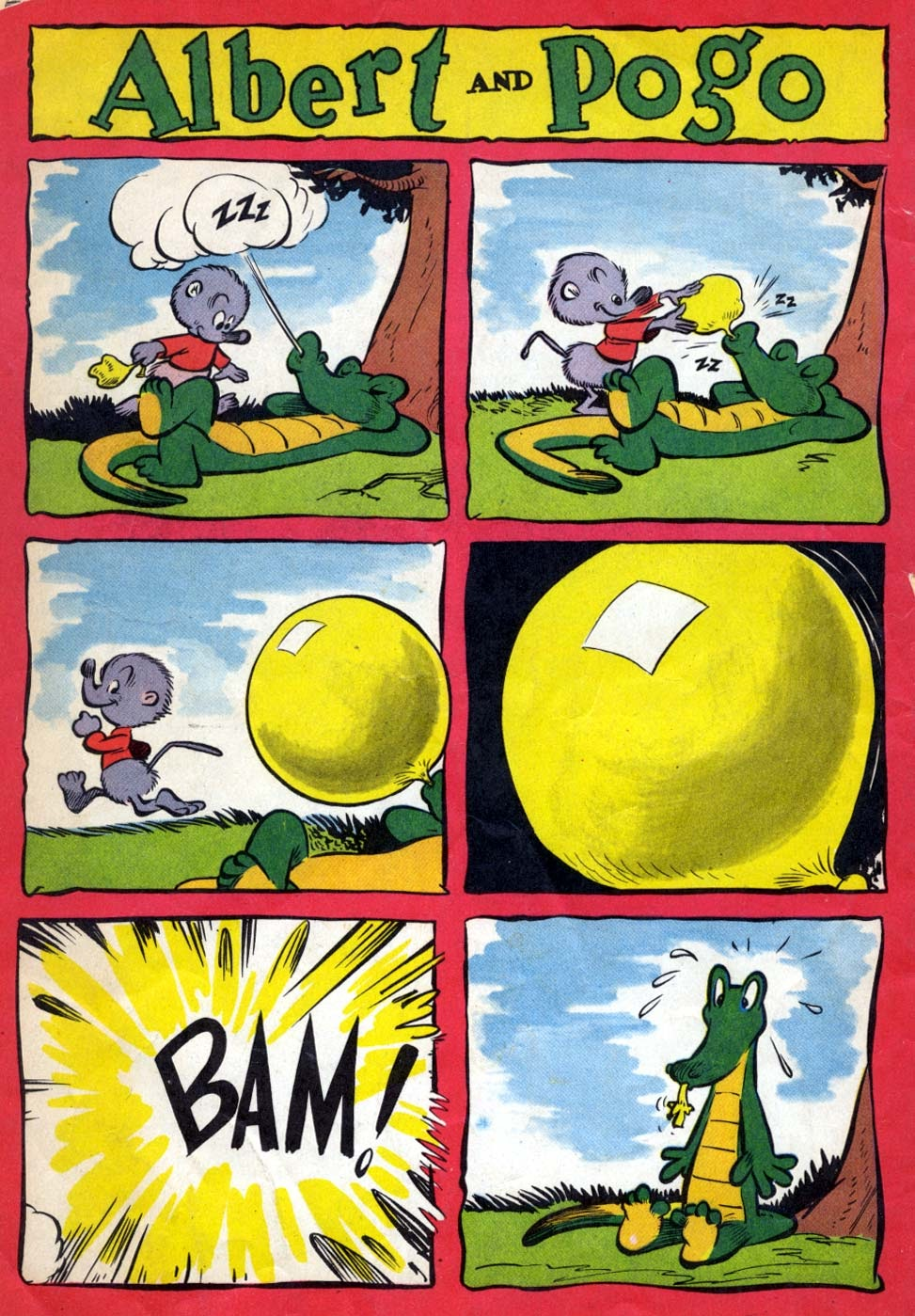 Read online Animal Comics comic -  Issue #22 - 52