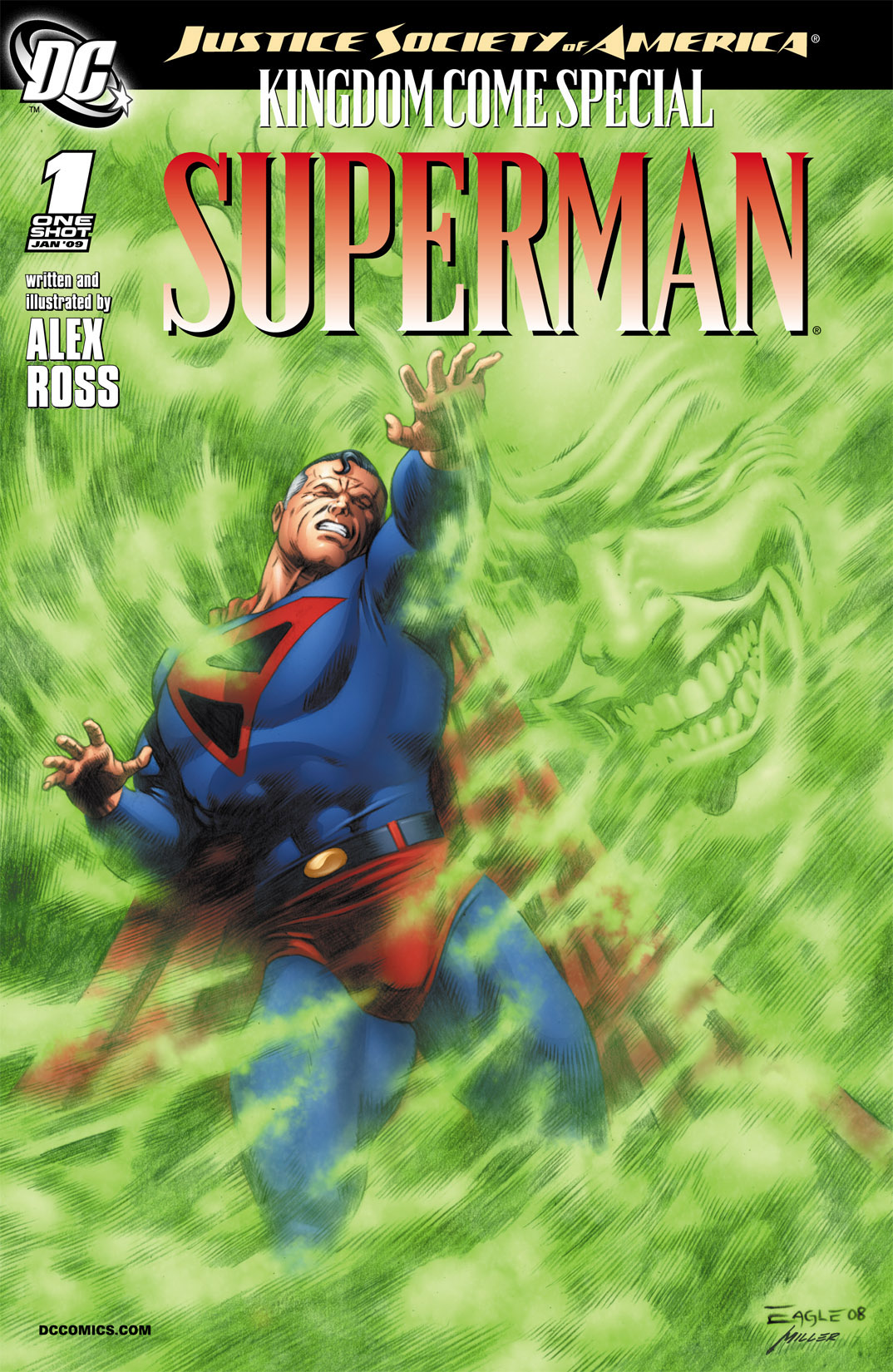 Read online JSA Kingdom Come Special: Superman comic -  Issue # Full - 2