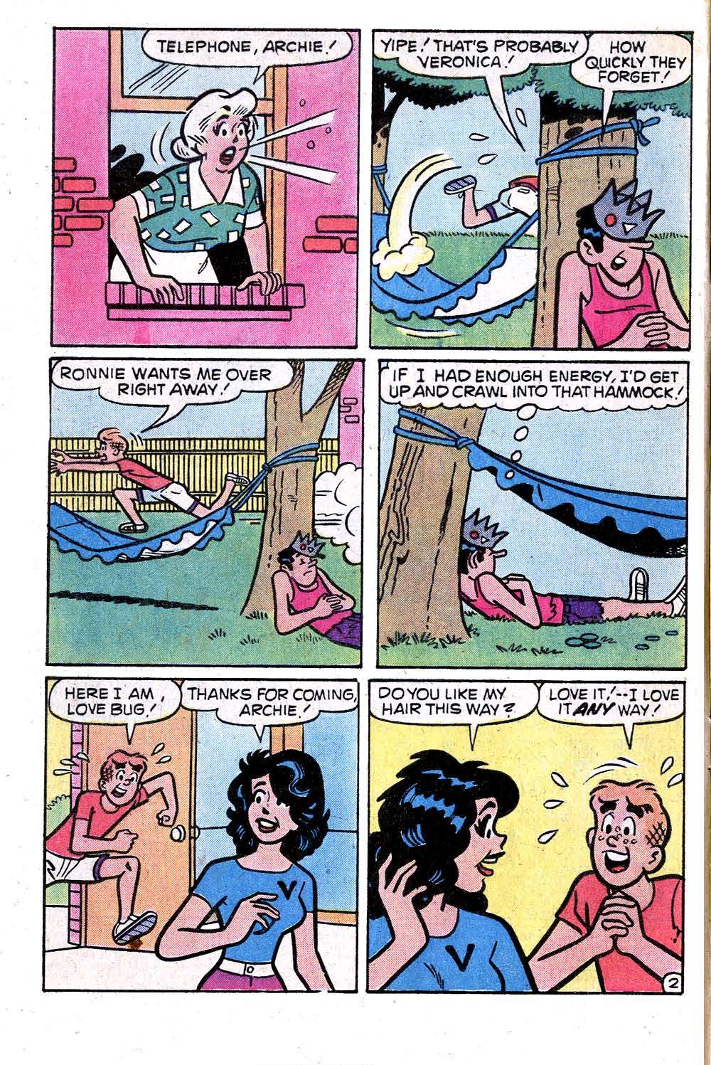 Read online Archie (1960) comic -  Issue #275 - 4