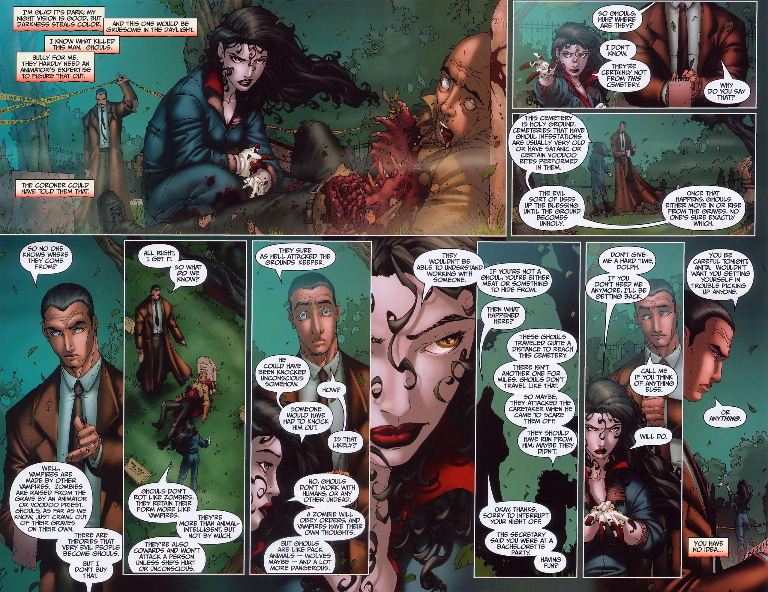 Read online Anita Blake, Vampire Hunter: Guilty Pleasures comic -  Issue #1 - 19