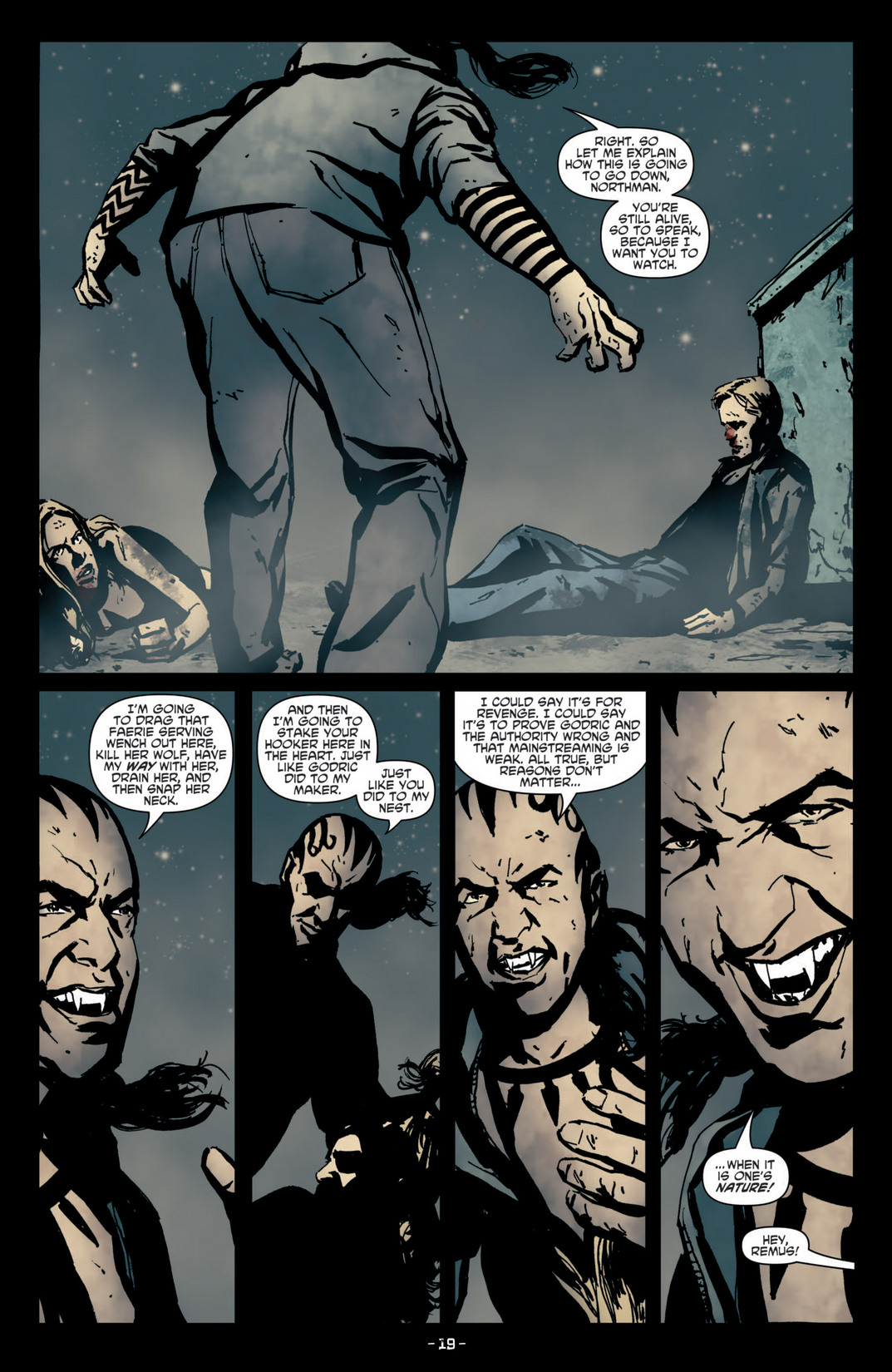 Read online True Blood (2012) comic -  Issue #4 - 21