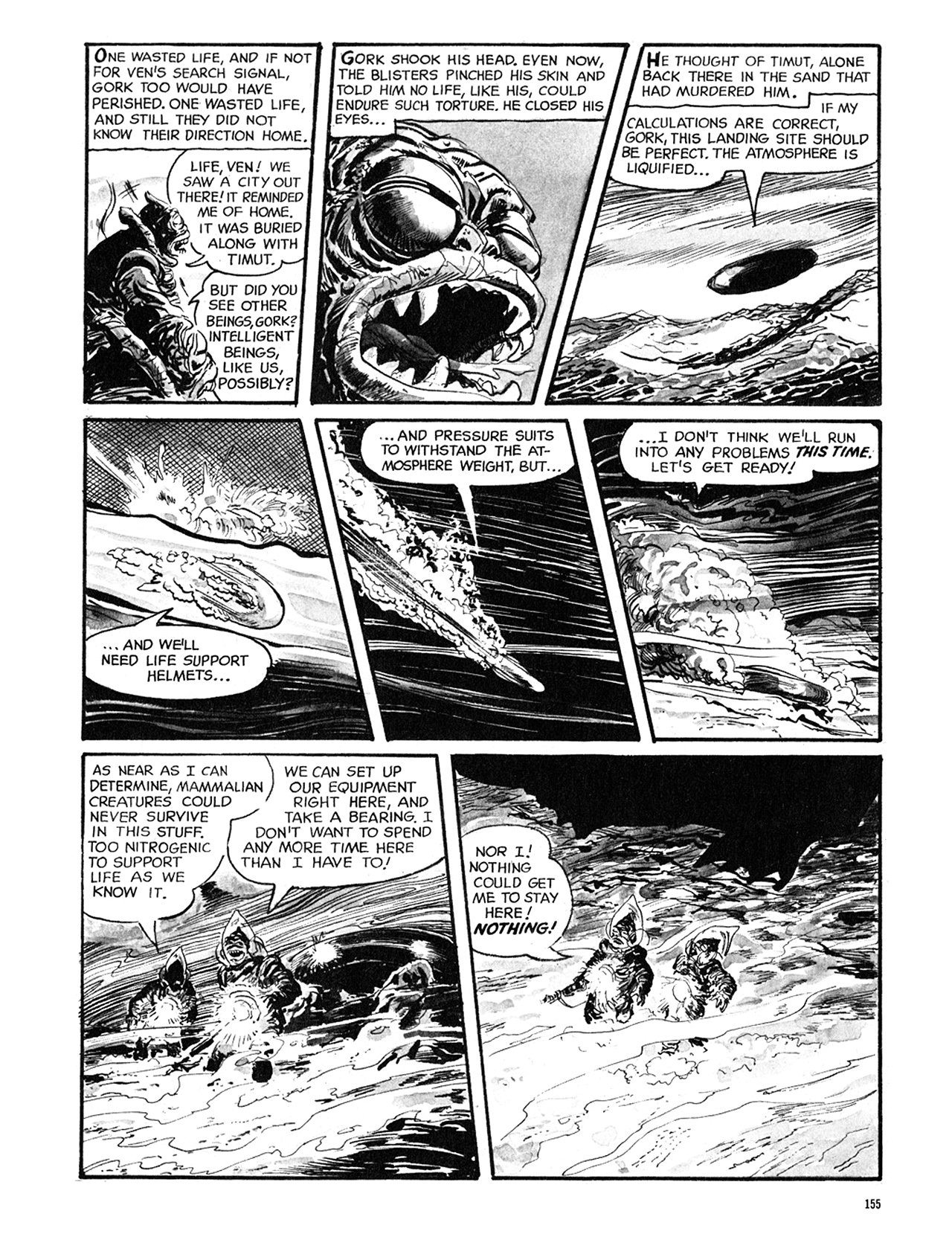 Read online Eerie Archives comic -  Issue # TPB 5 - 156
