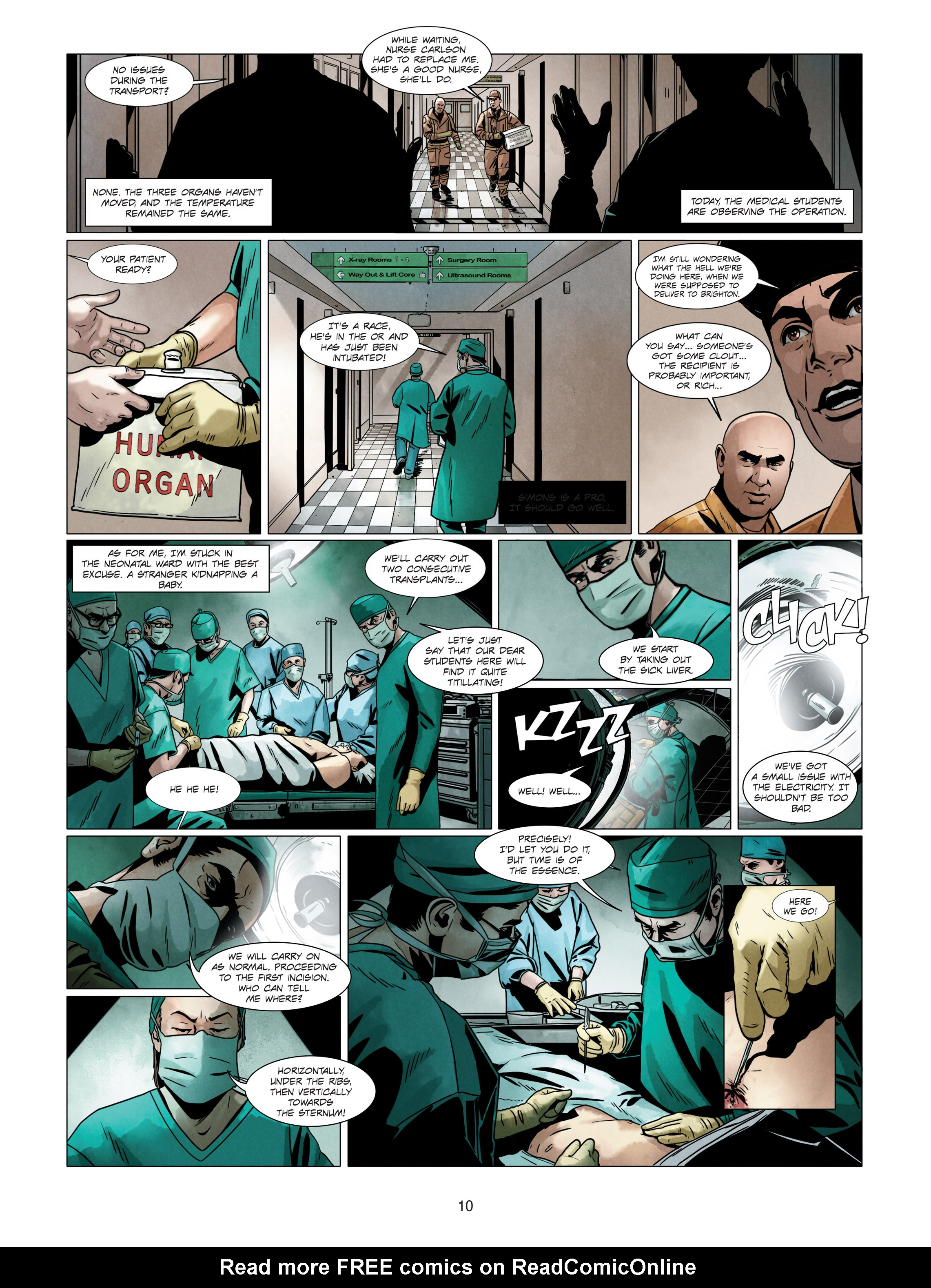 Read online Alice Matheson comic -  Issue #4 - 10