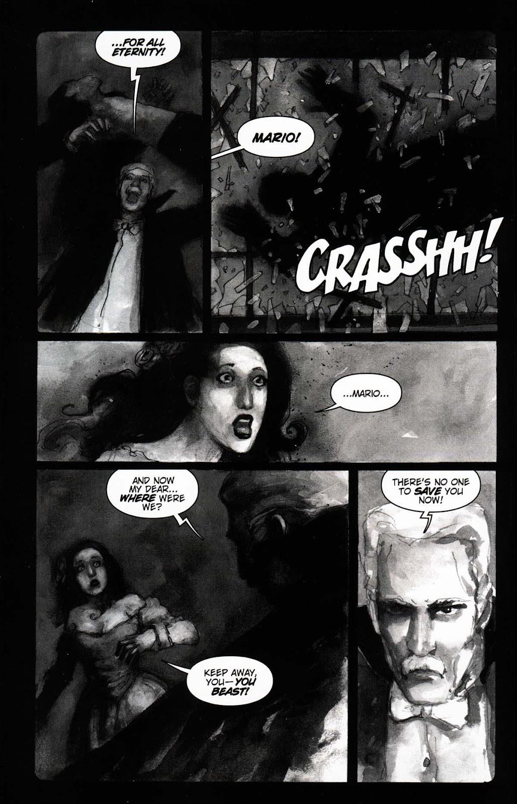 Read online Vampire the Masquerade comic -  Issue # Toreador - 6