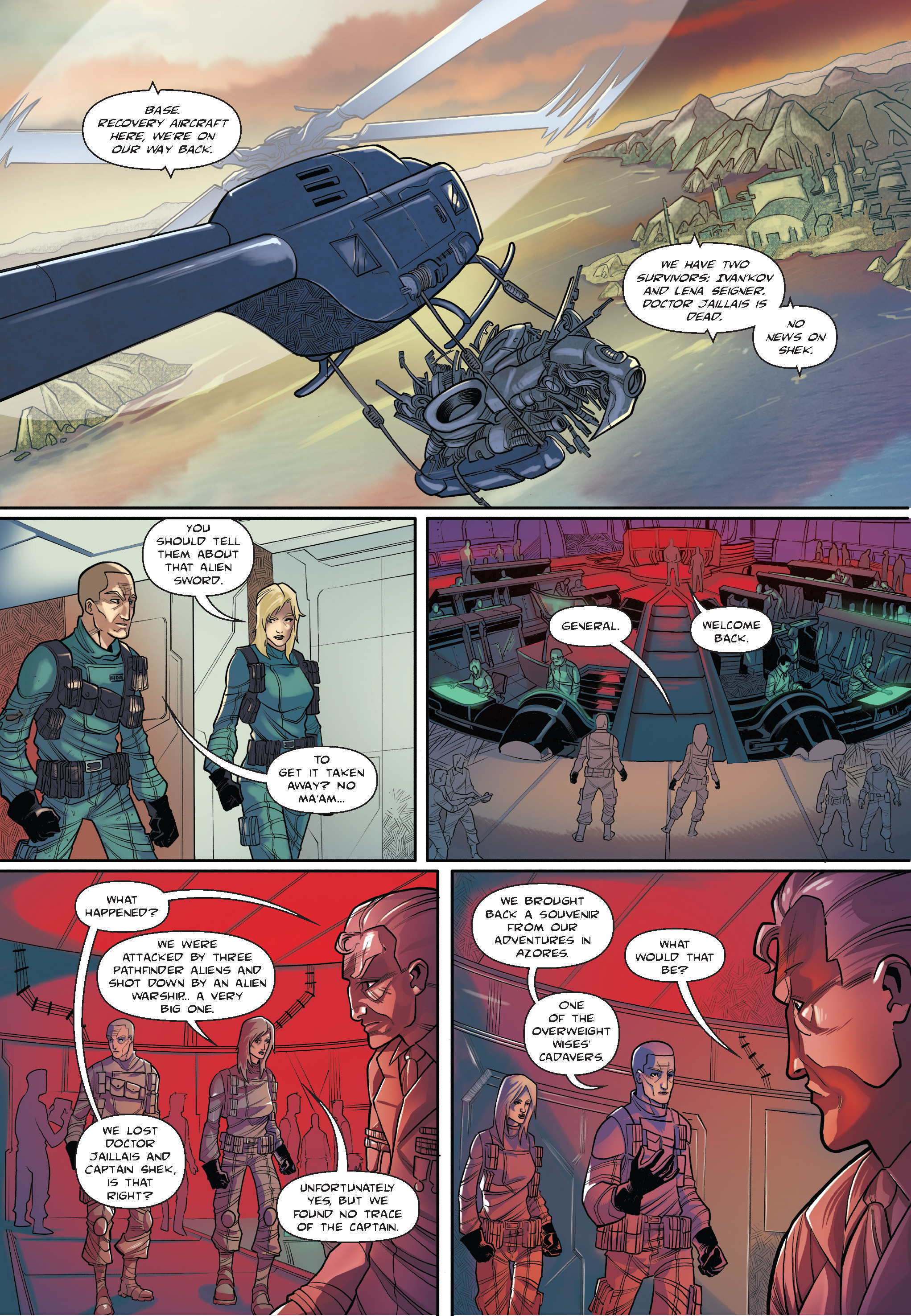 Read online The Shadow of a Terrible Thing comic -  Issue # TPB - 74