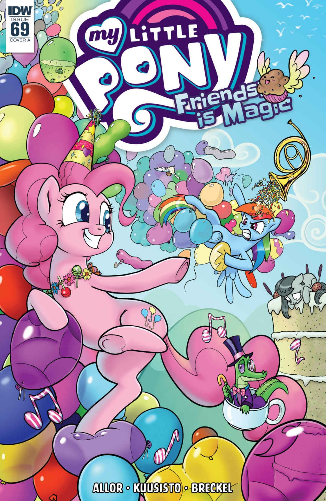 My Little Pony: Friendship is Magic issue 69 - Page 1