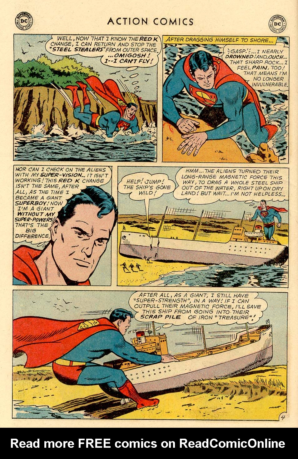 Read online Action Comics (1938) comic -  Issue #325 - 6