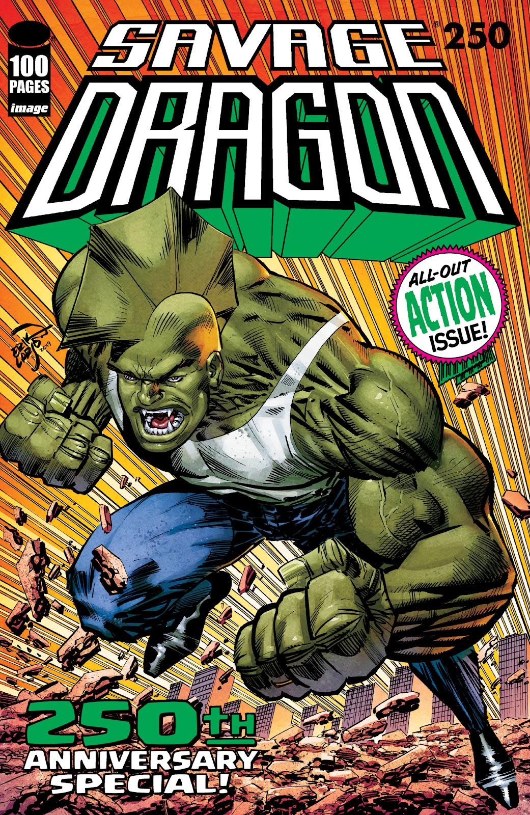 The Savage Dragon (1993) 250 Page 1