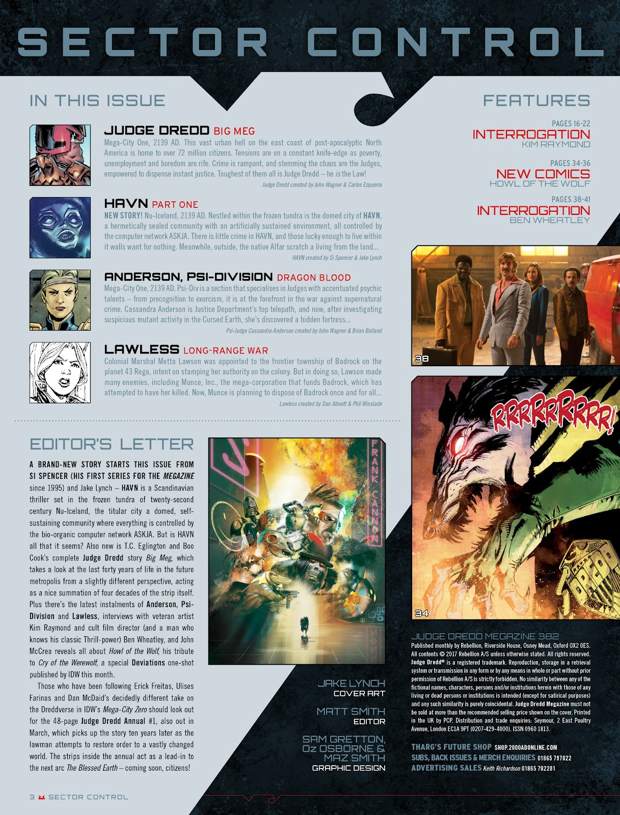 Judge Dredd Megazine (Vol. 5) Issue #382 #181 - English 3