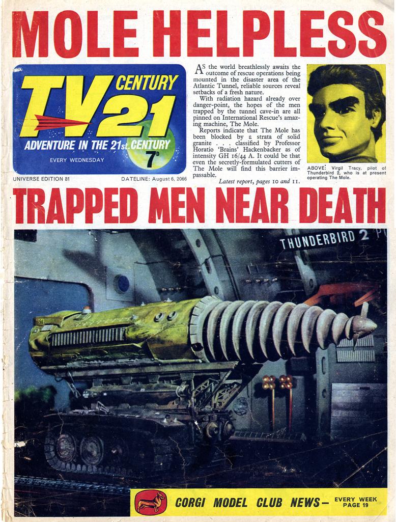 TV Century 21 (TV 21) 81 Page 1