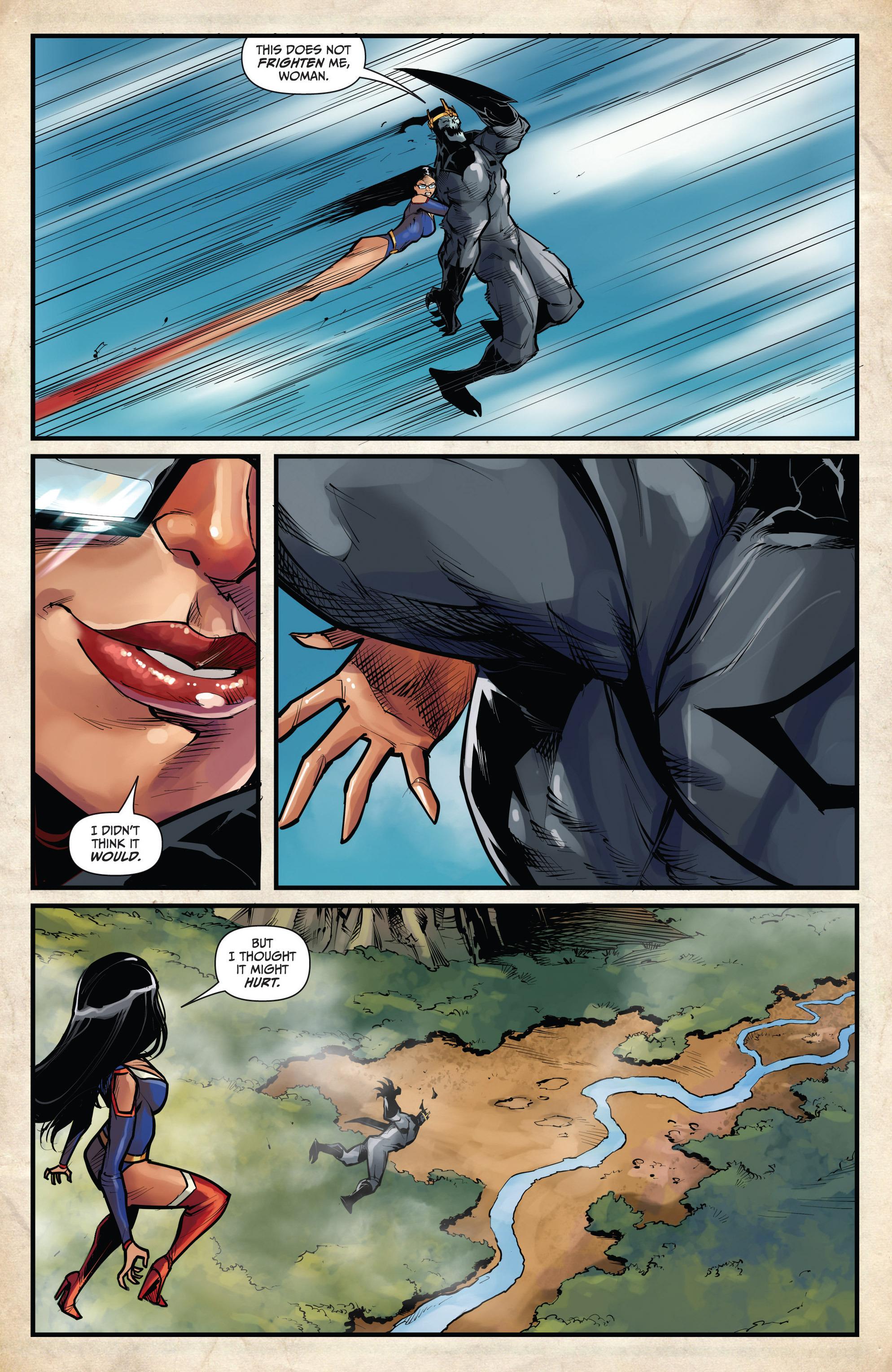 Read online Grimm Fairy Tales vs. Wonderland comic -  Issue #4 - 18