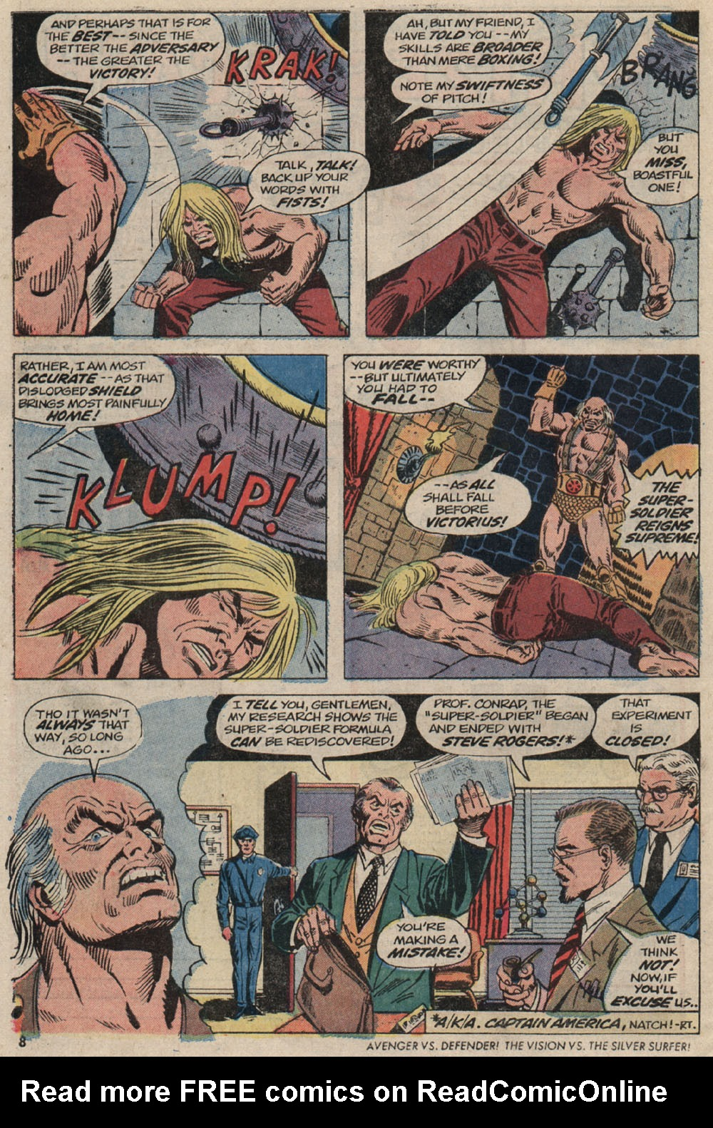 Read online Astonishing Tales (1970) comic -  Issue #20 - 7
