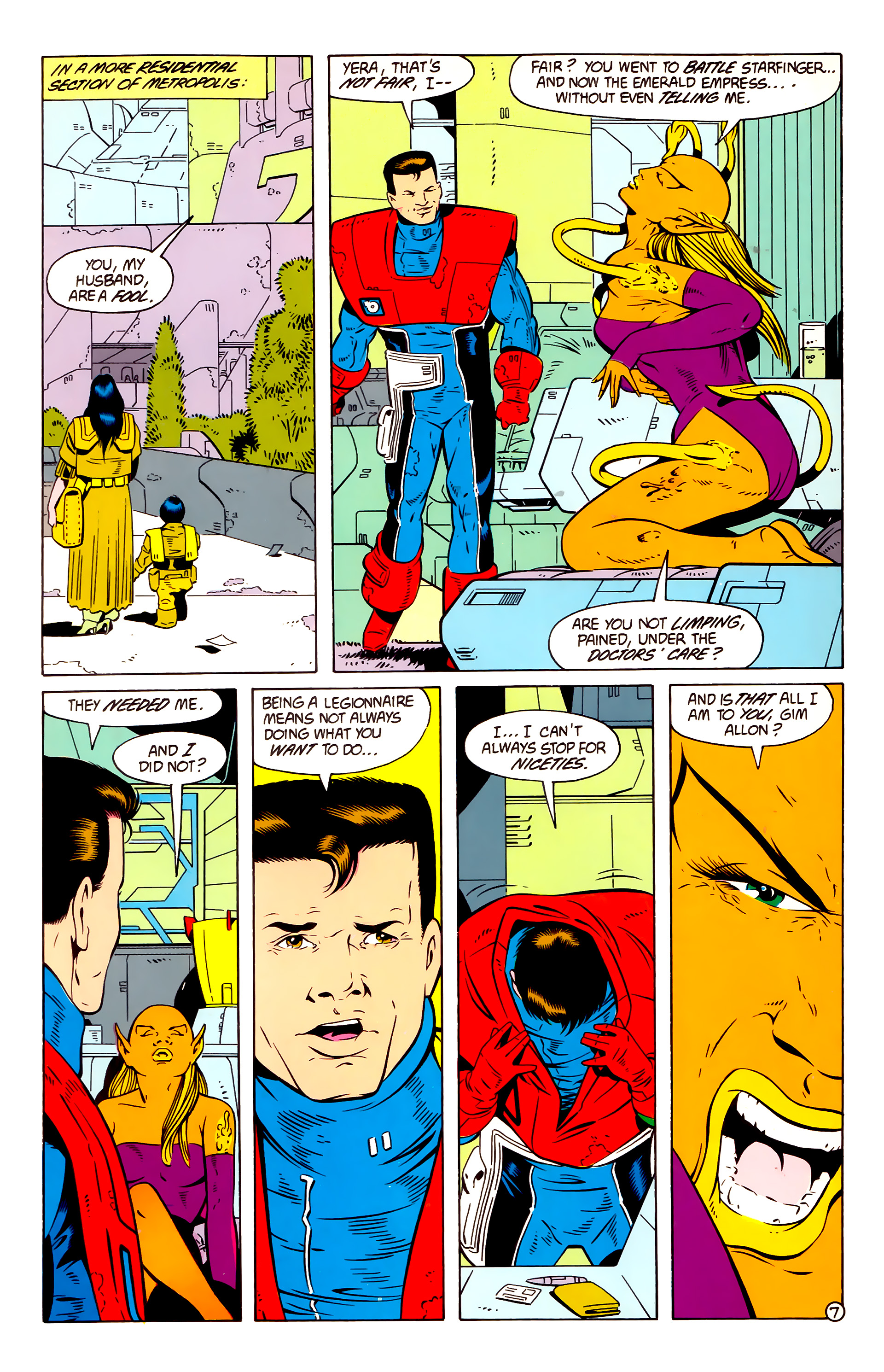 Legion of Super-Heroes (1984) 58 Page 7