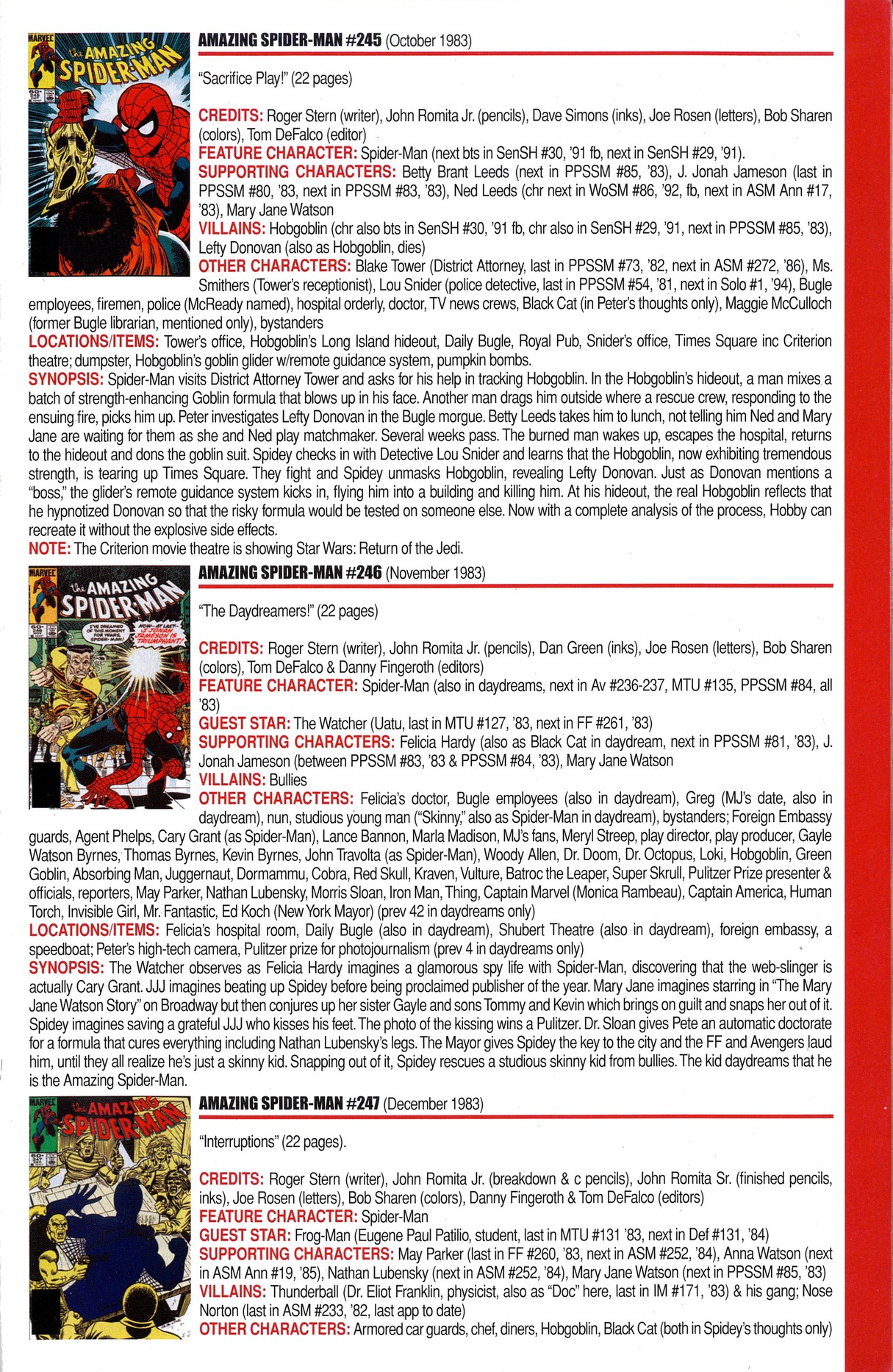Read online Official Index to the Marvel Universe comic -  Issue #6 - 3