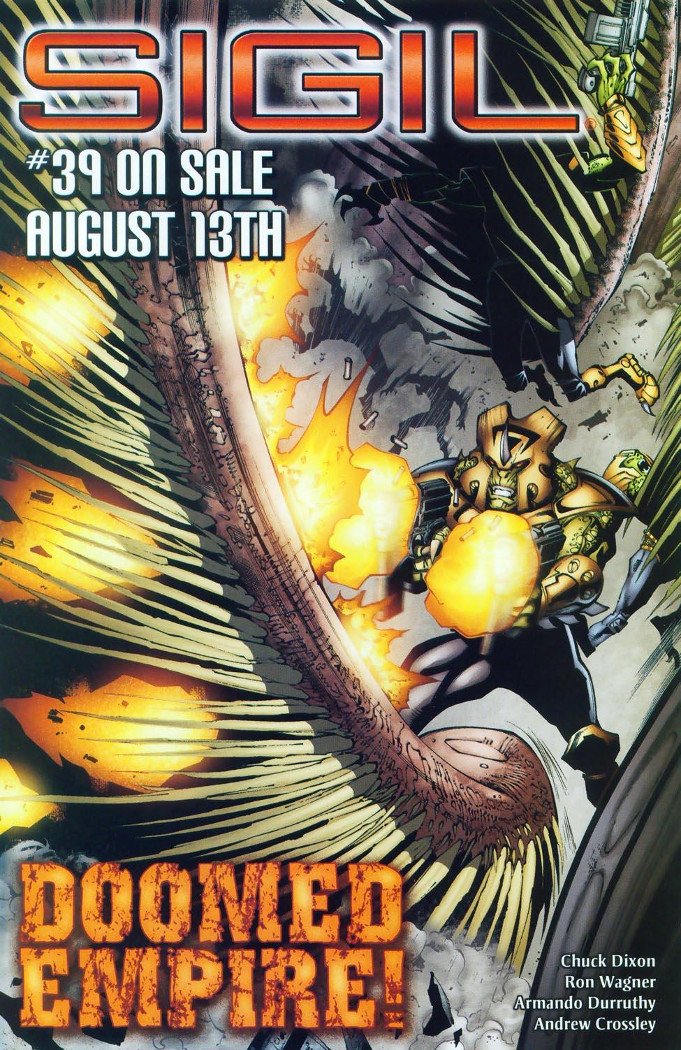 Read online Sigil (2000) comic -  Issue #38 - 21