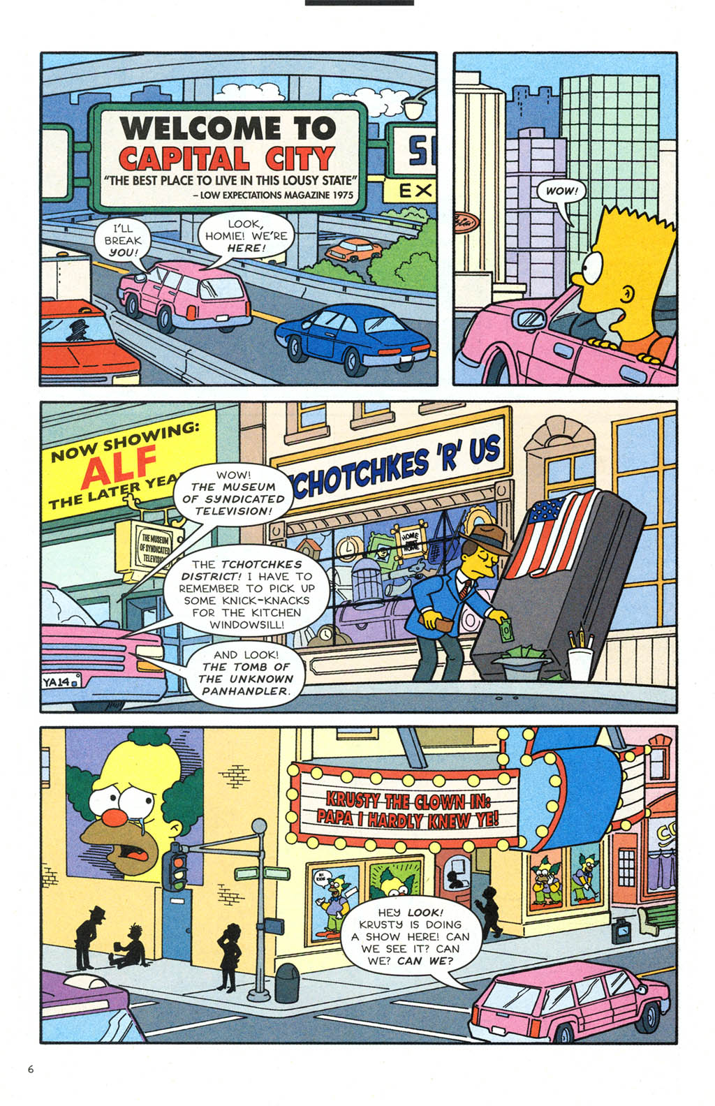Read online Simpsons Comics comic -  Issue #106 - 7