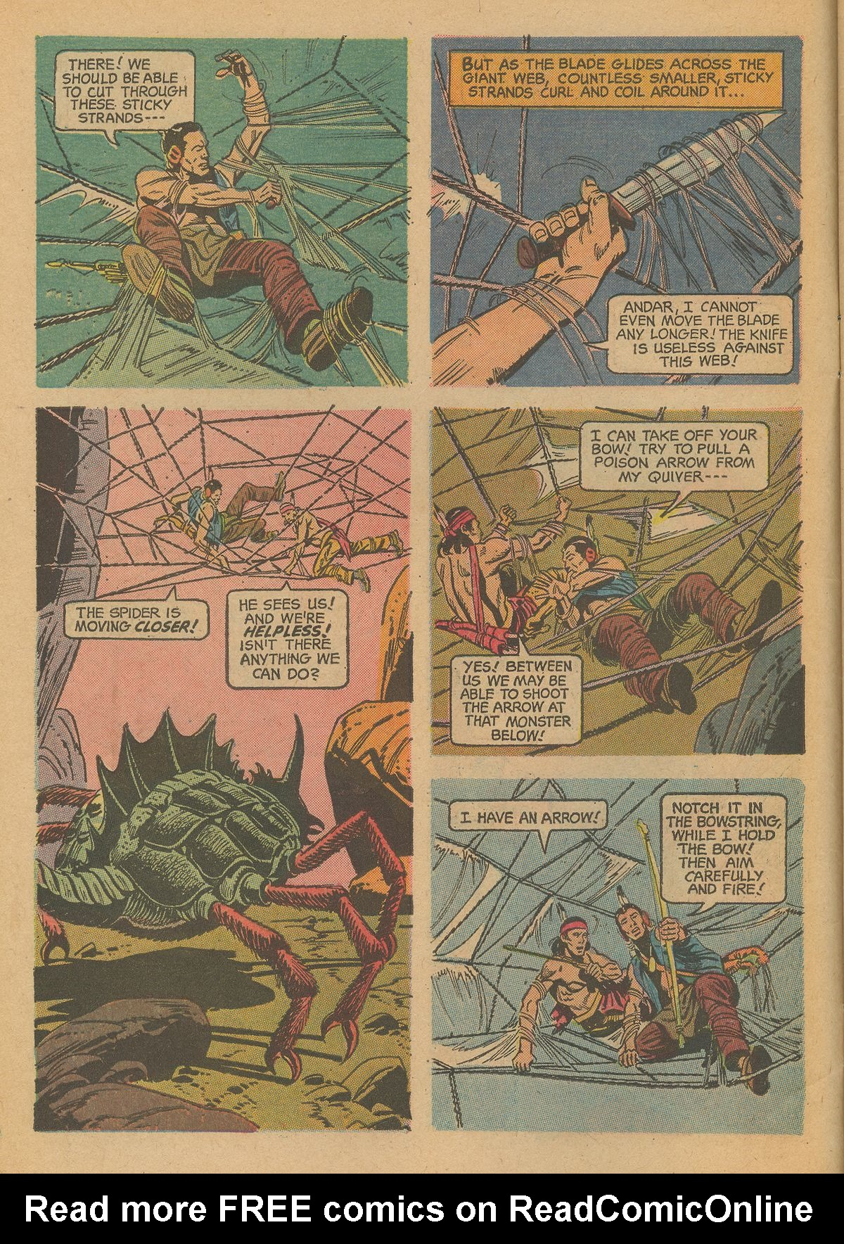 Read online Turok, Son of Stone comic -  Issue #59 - 6