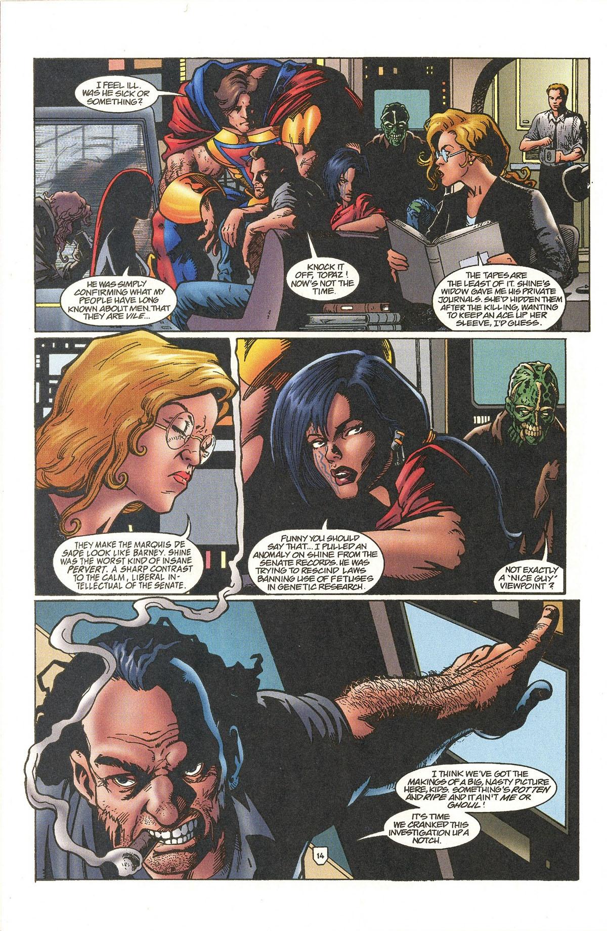 Read online UltraForce (1995) comic -  Issue #5 - 17