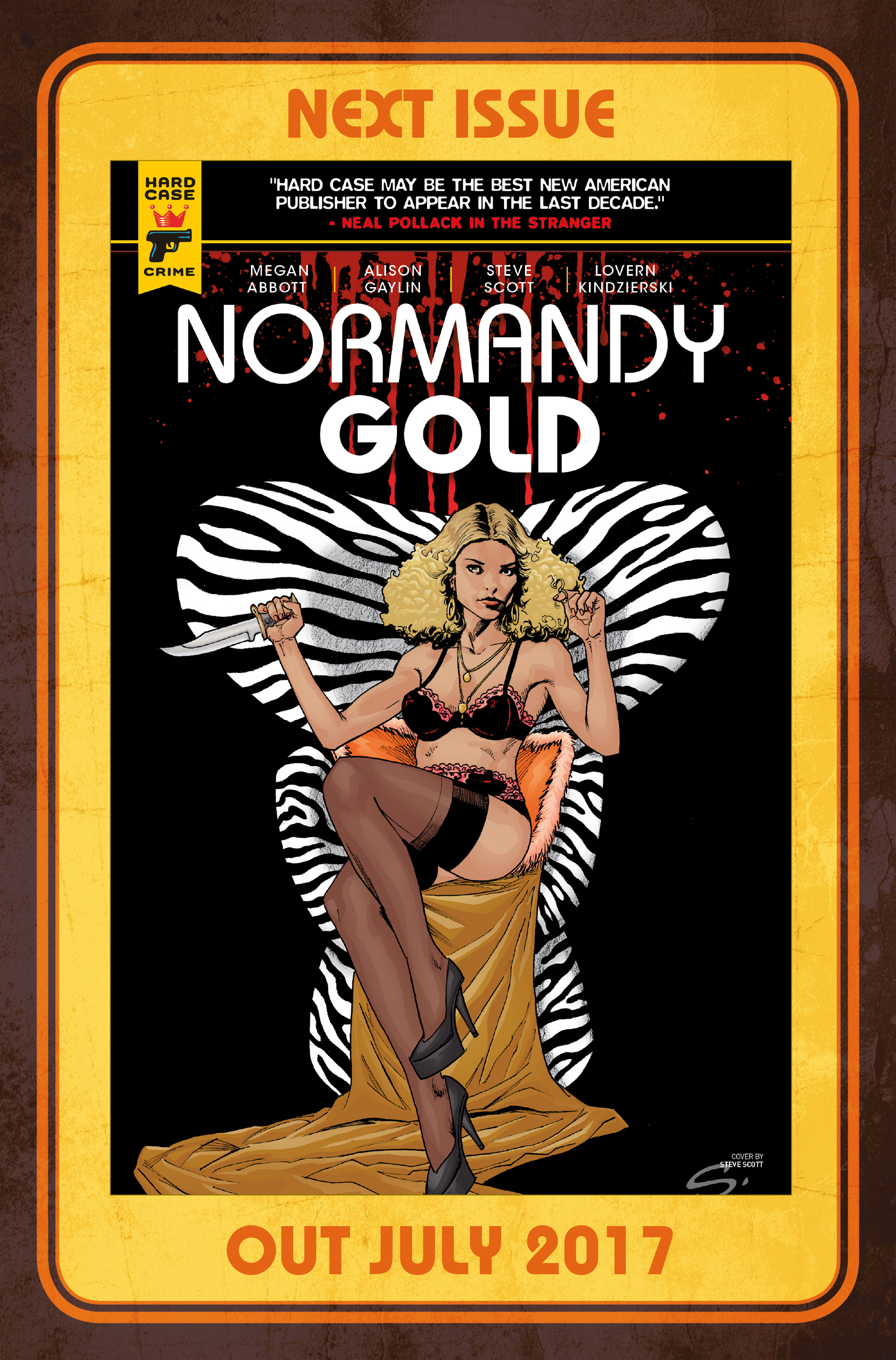Read online Normandy Gold comic -  Issue #1 - 31