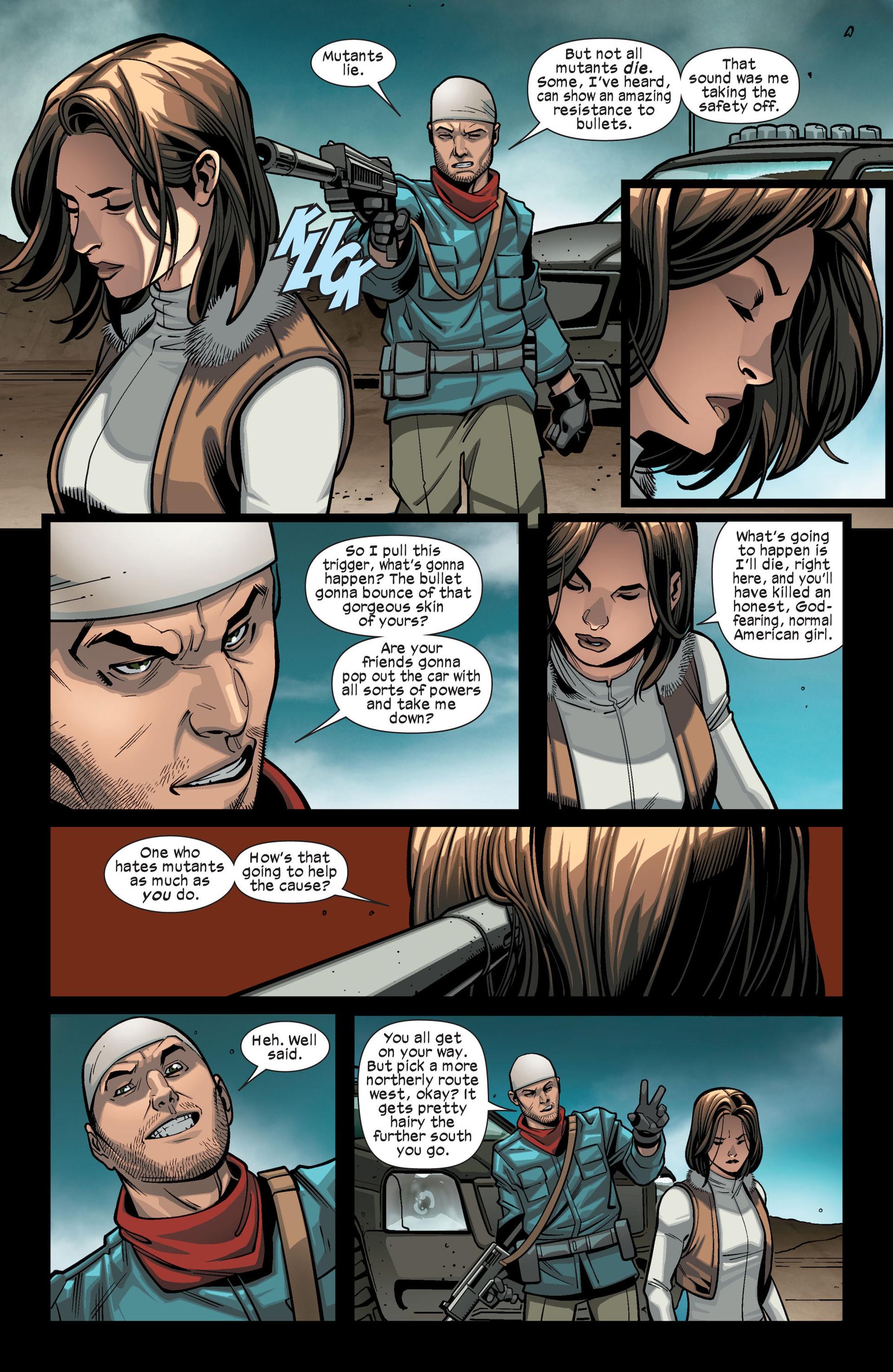Read online Ultimate Comics X-Men comic -  Issue #14 - 18