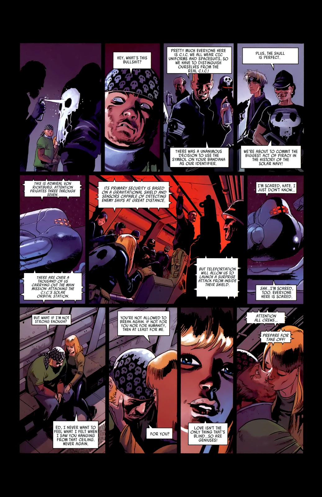 Read online Universal War One: Revelations comic -  Issue #3 - 24