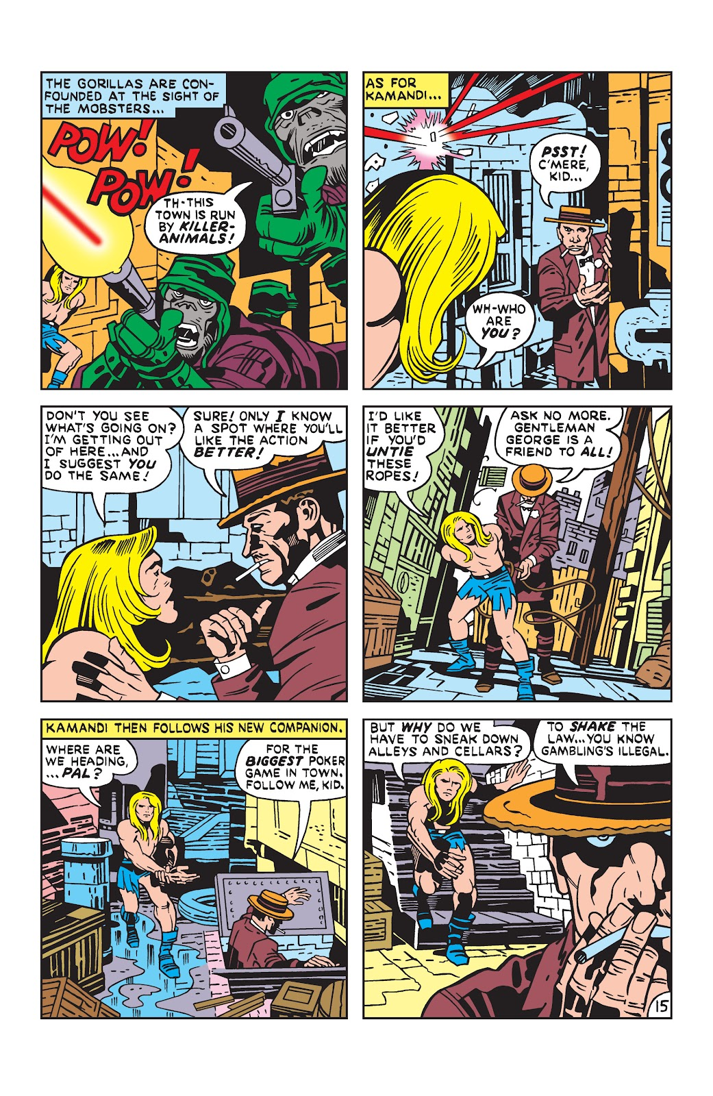 Kamandi, The Last Boy On Earth issue 19 - Page 15