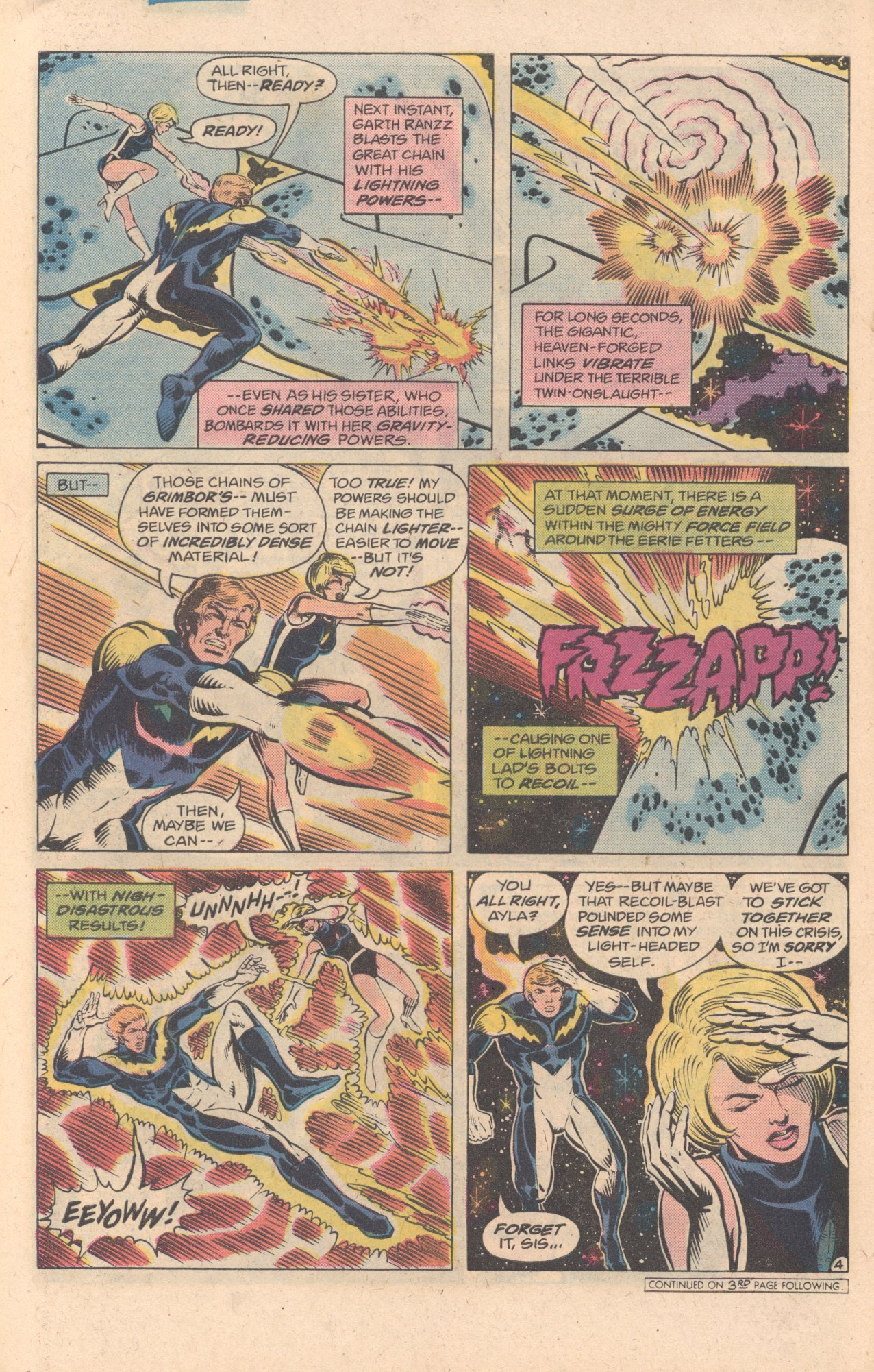 Legion of Super-Heroes (1980) 278 Page 4